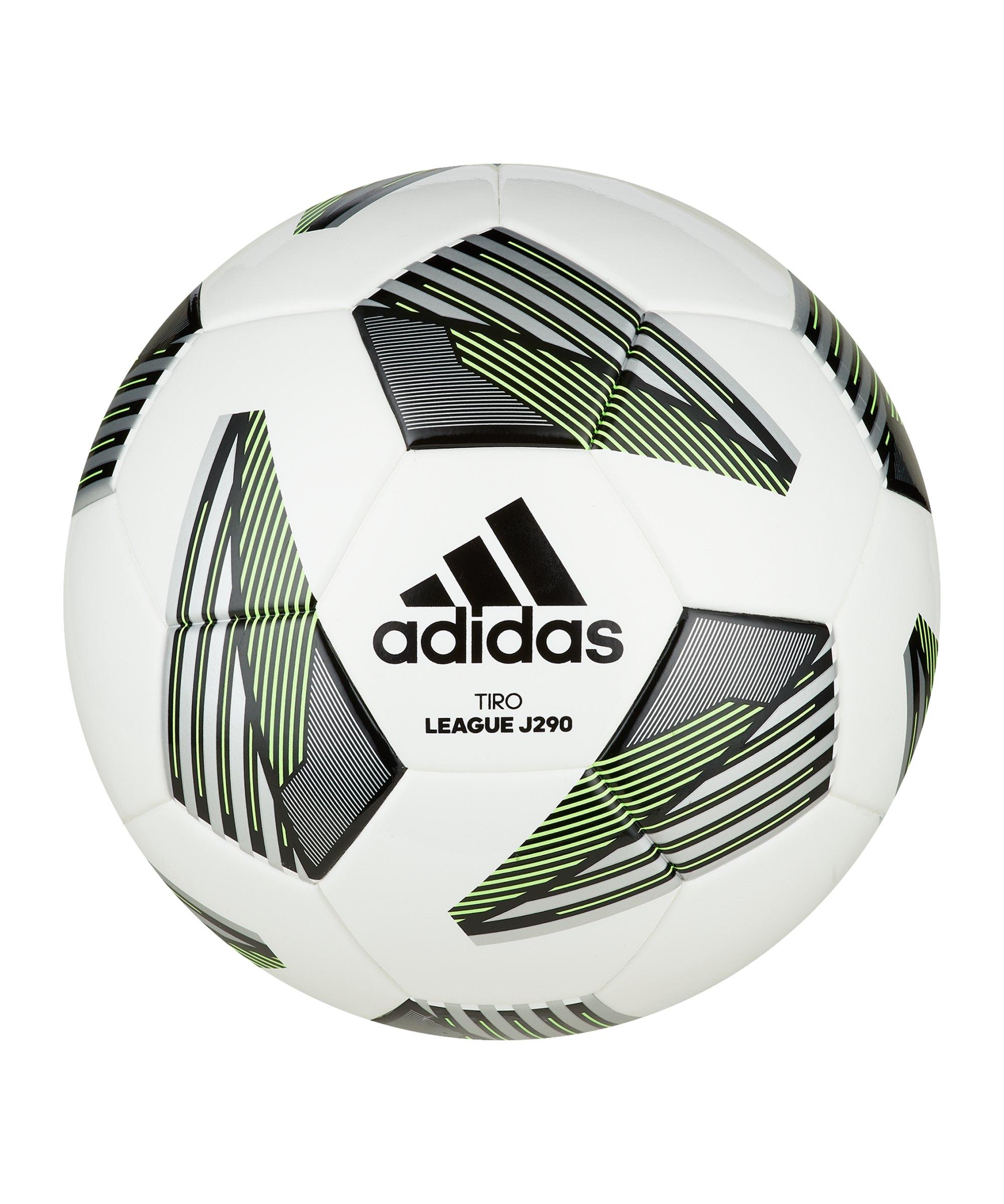 adidas Tiro Junior 290 Gramm Lightball Weiss - weiss