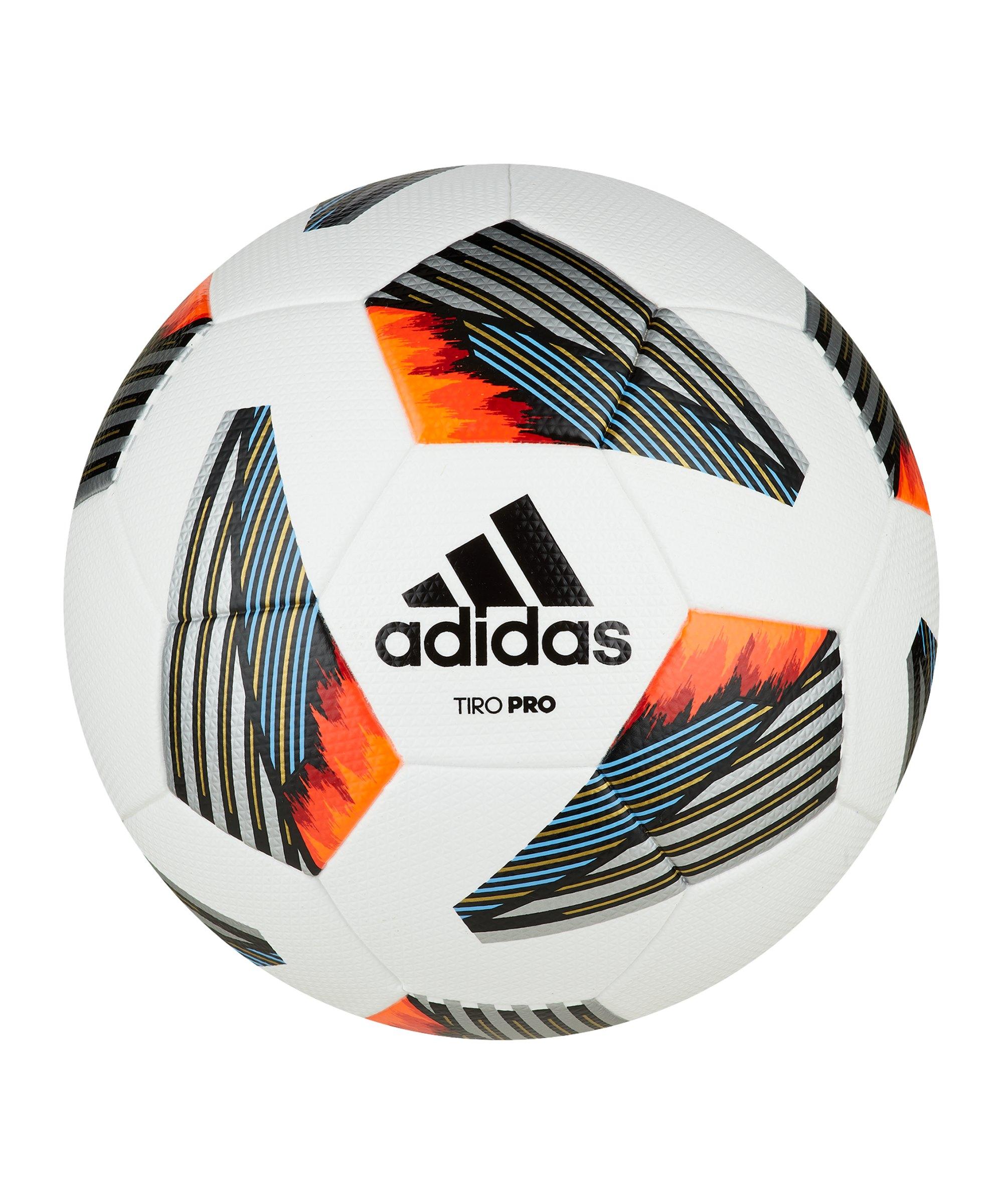 adidas Tiro Pro Spielball Weiss - weiss