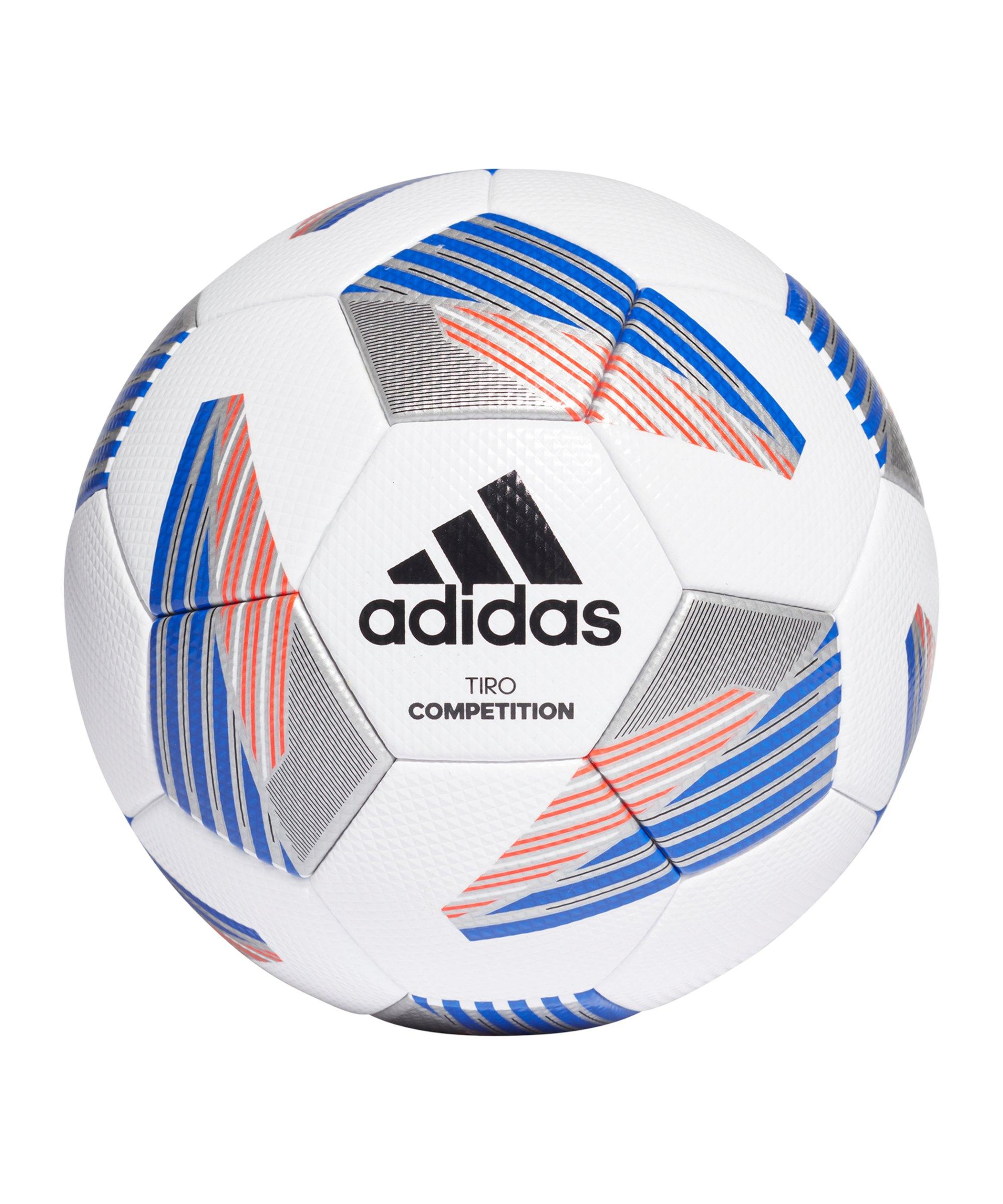 adidas Tiro Competition Spielball Weiss - weiss