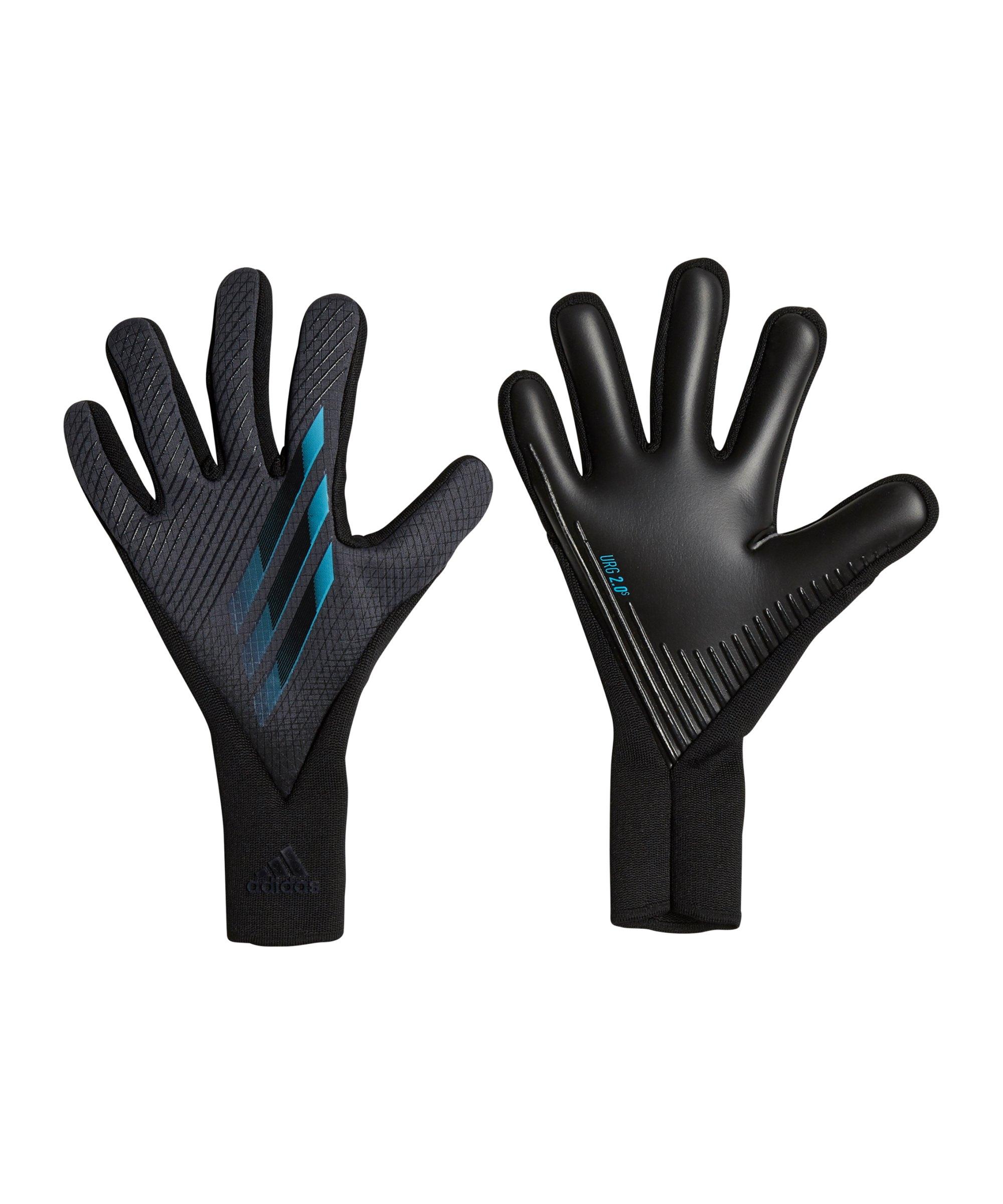 adidas X Pro Inflight Torwarthandschuh Schwarz Blau - schwarz