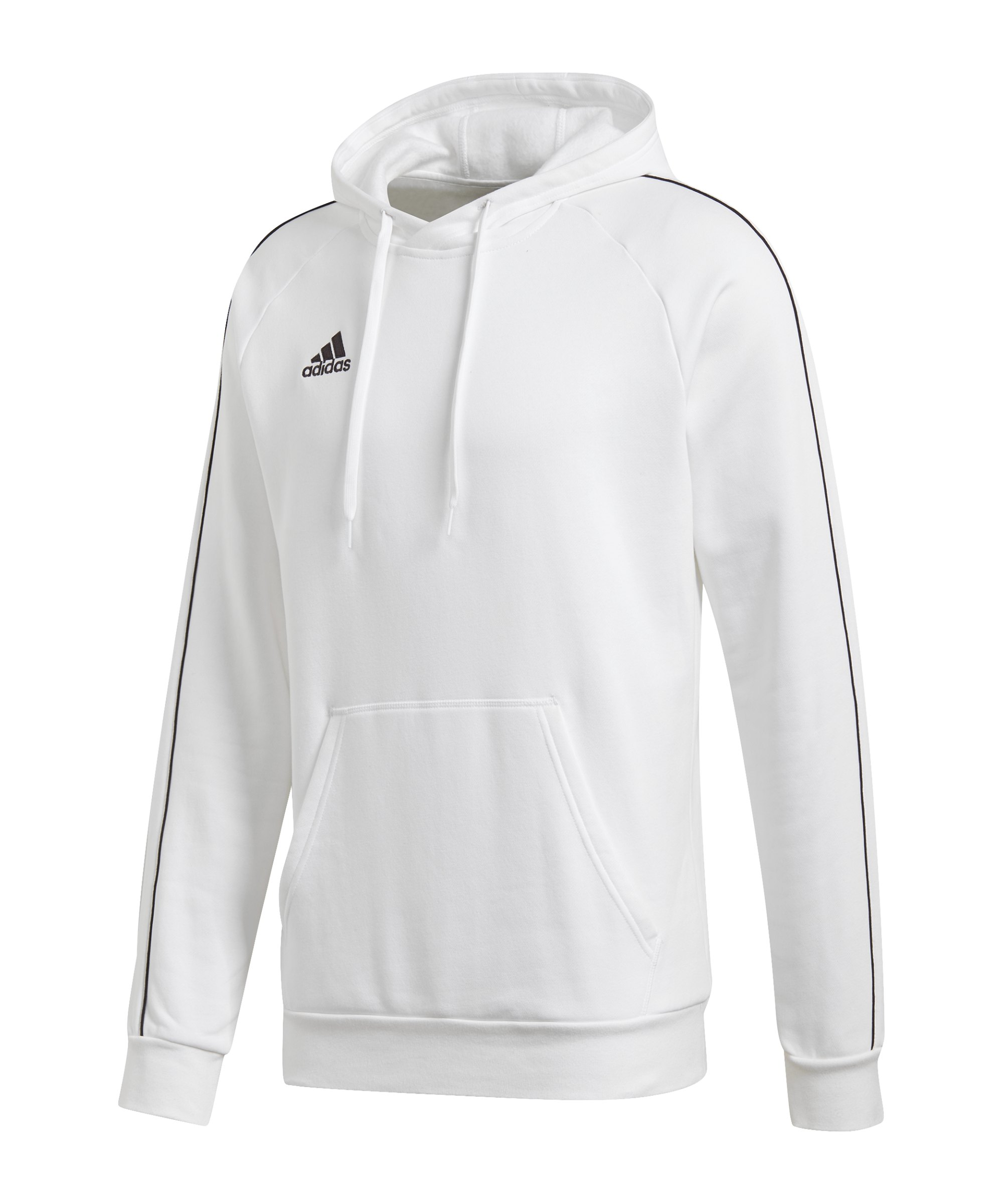 adidas Core 18 Hoody Kapuzensweatshirt Weiss - weiss