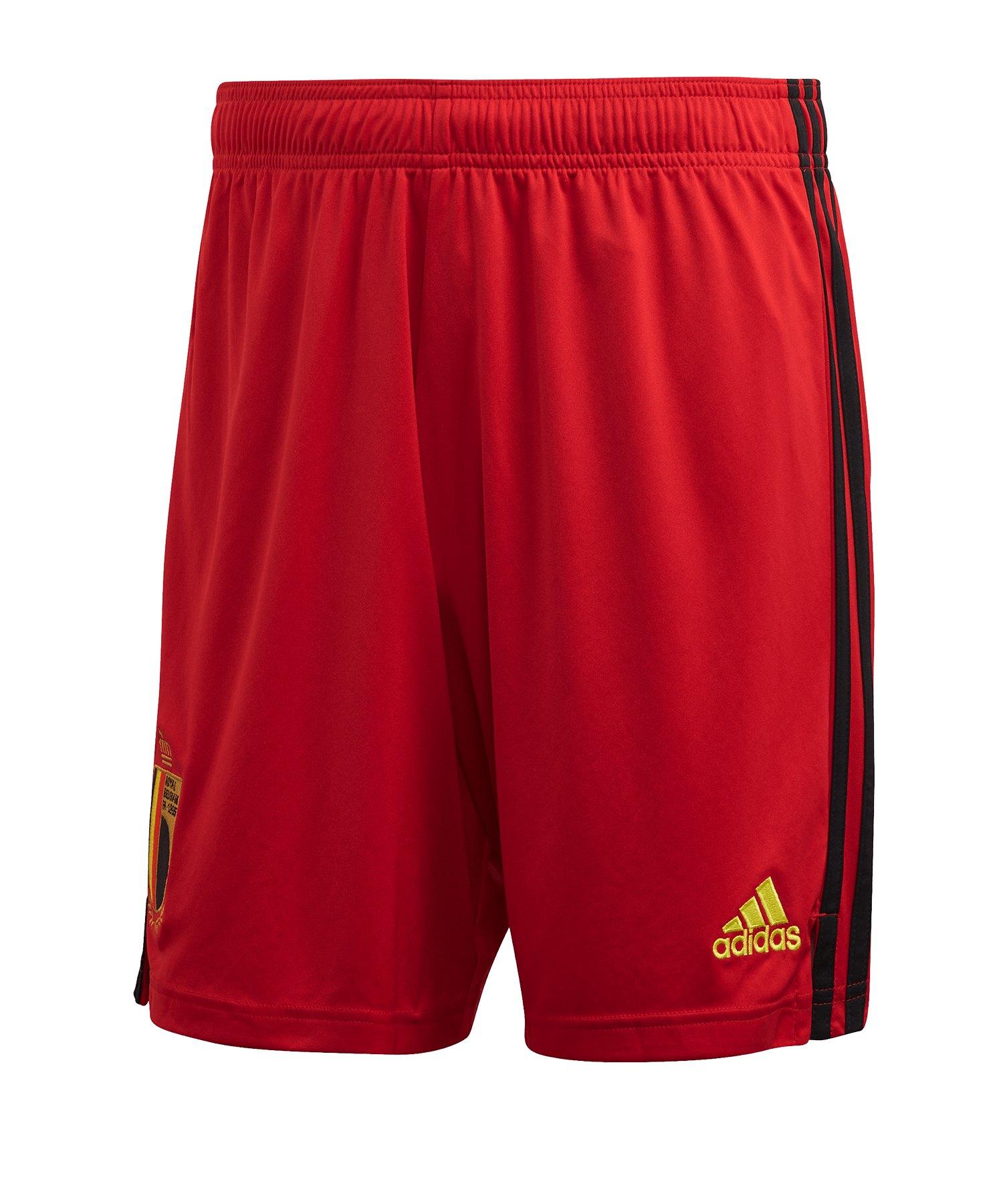 adidas Belgien Short Home EM 2020 Rot - rot