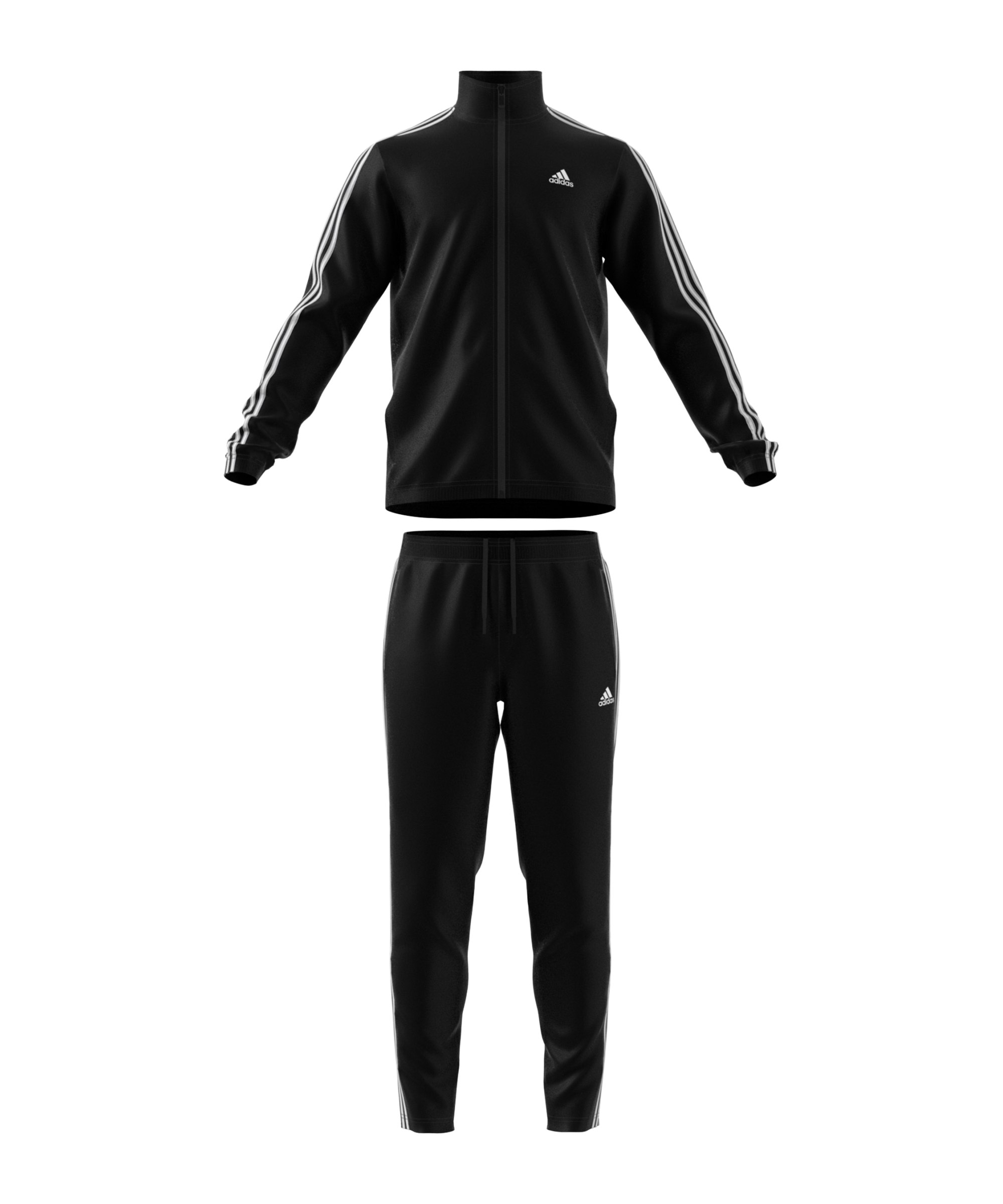 adidas Athletics Tiro Trainingsanzug Schwarz - schwarz