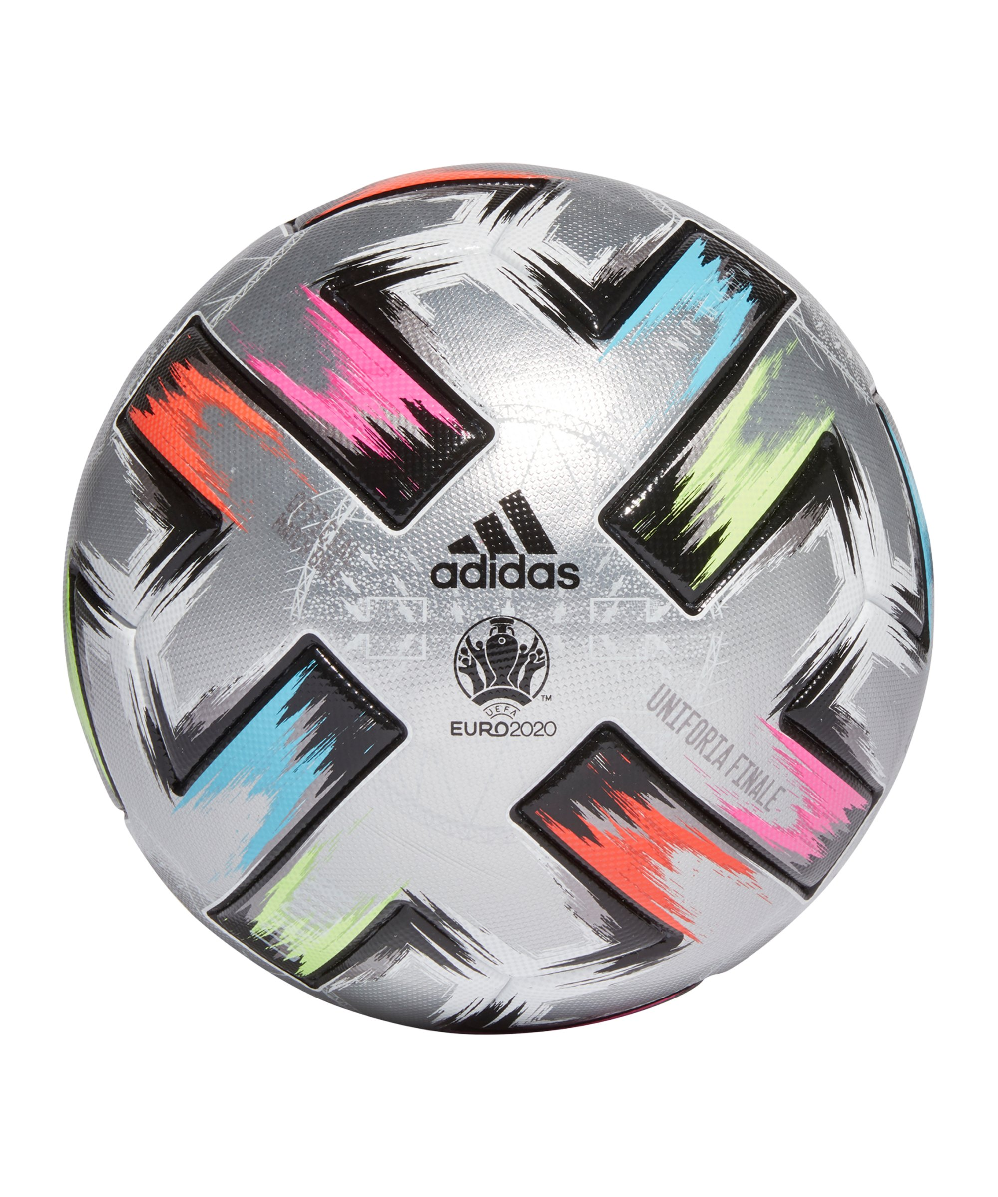 adidas Uniforia Finale Pro Spielball Silber - silber