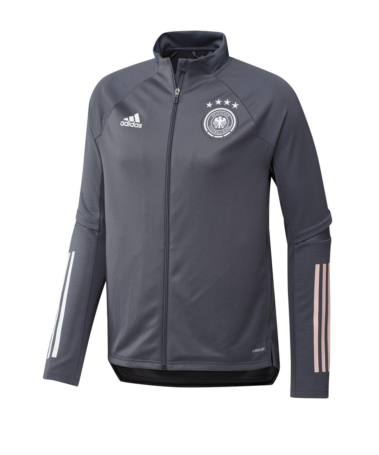 adidas DFB Deutschland Trainingsjacke Hellgrau - grau