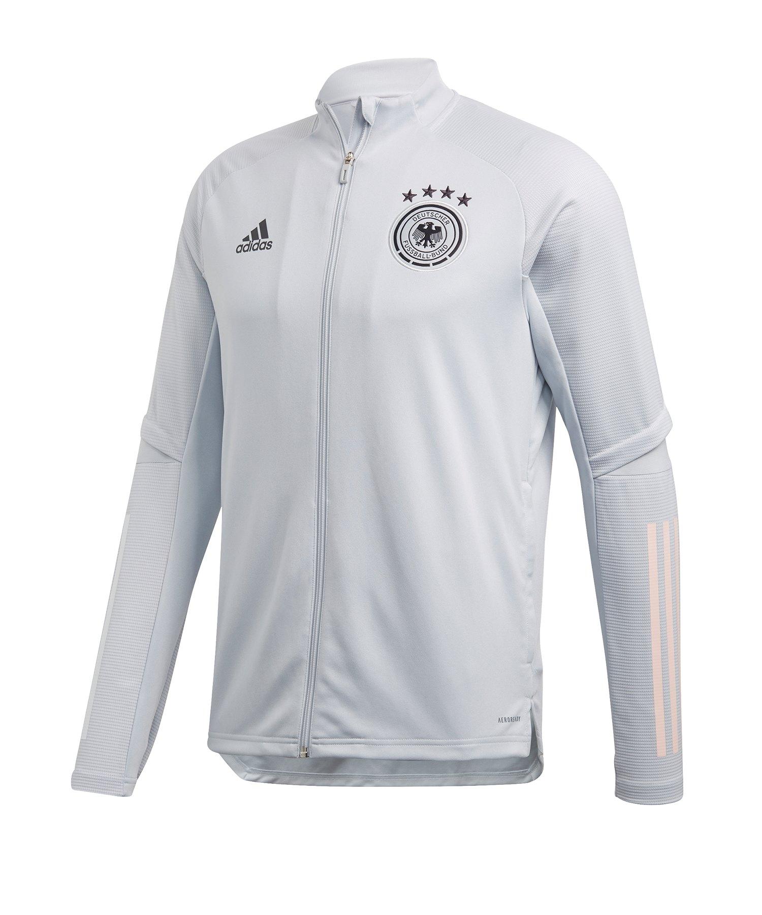 adidas DFB Deutschland Trainingsjacke Grau - grau