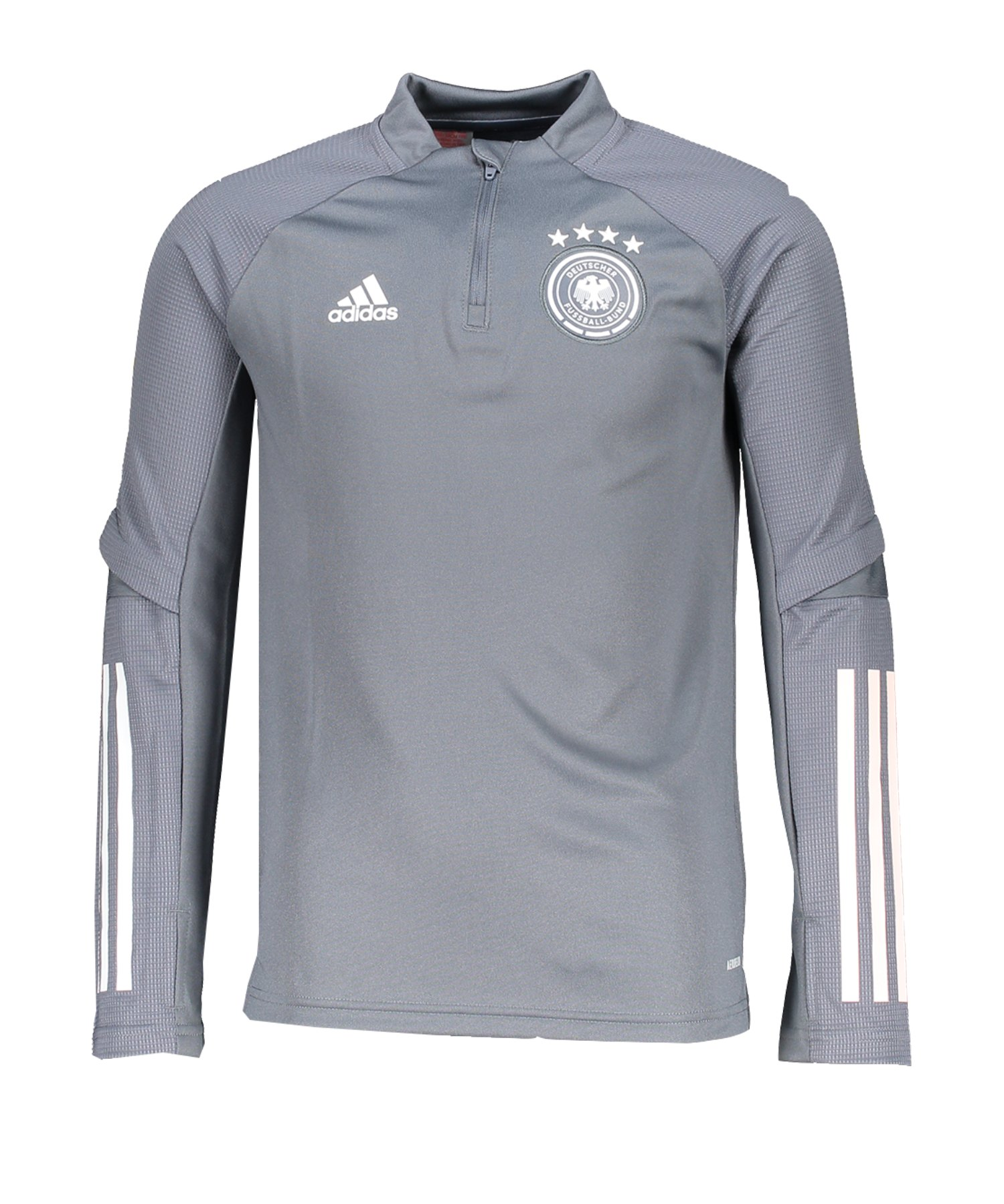 adidas DFB Deutschland Trainingstop LS Kids Grau - grau