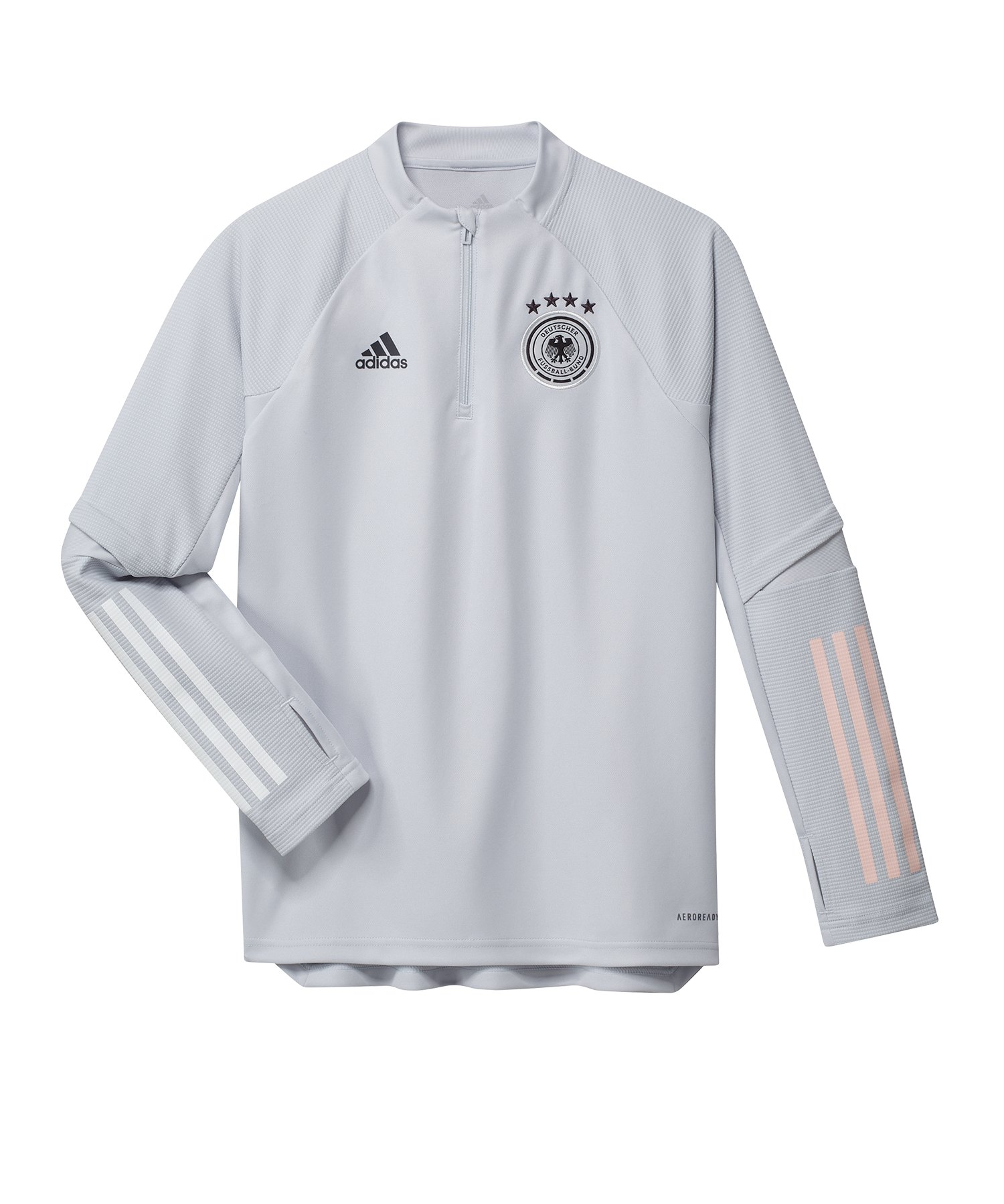 adidas DFB Deutschland Trainingstop Kids Hellgrau - grau