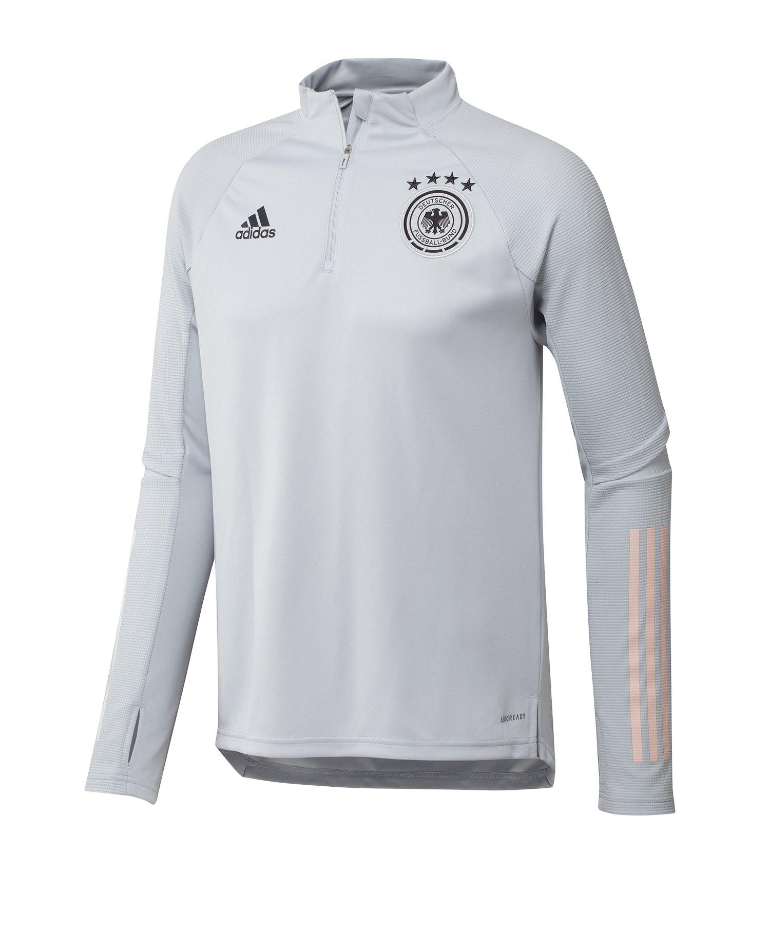 adidas DFB Deutschland Trainingstop Hellgrau - grau
