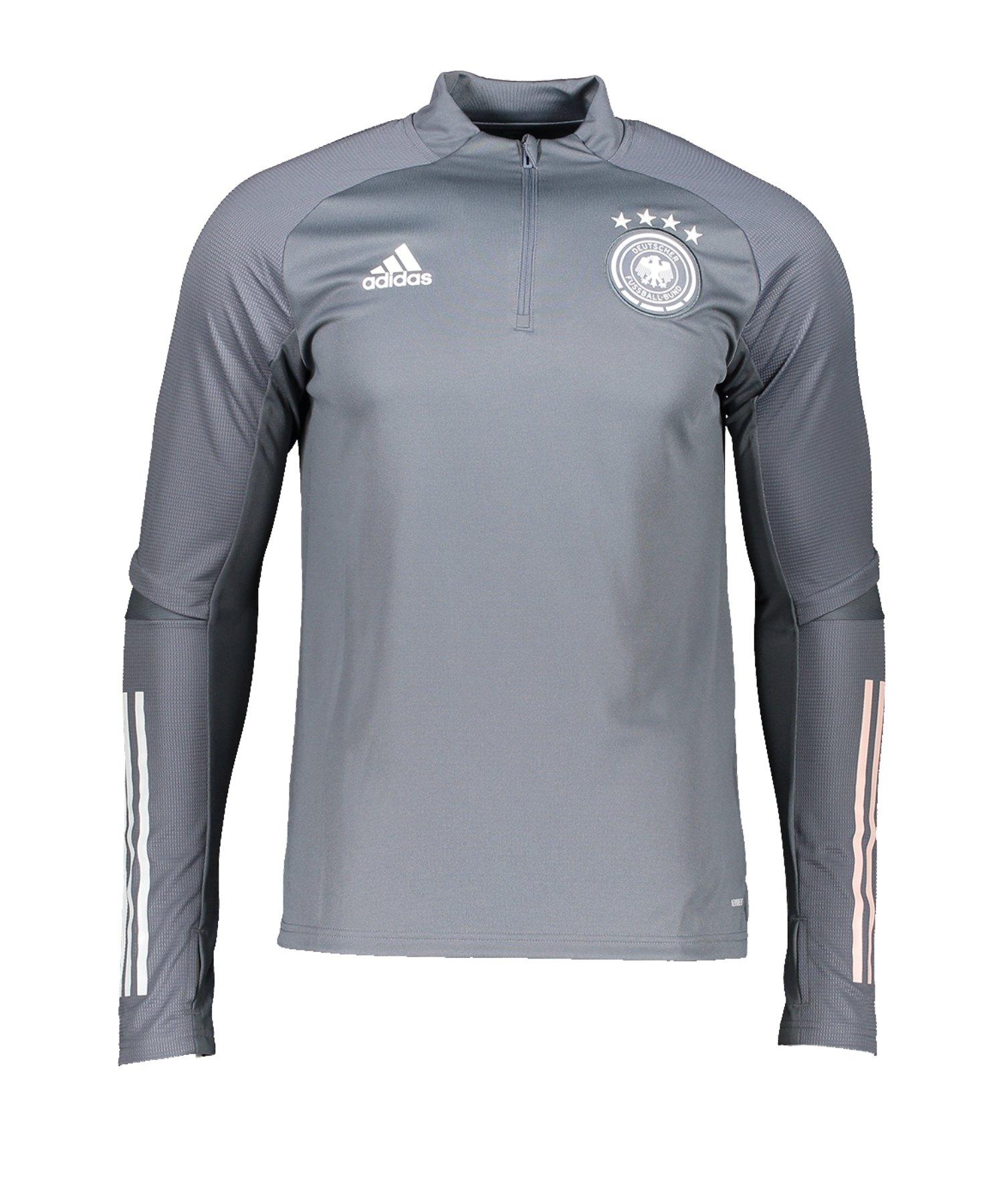 adidas DFB Deutschland Trainingstop LS Grau - grau