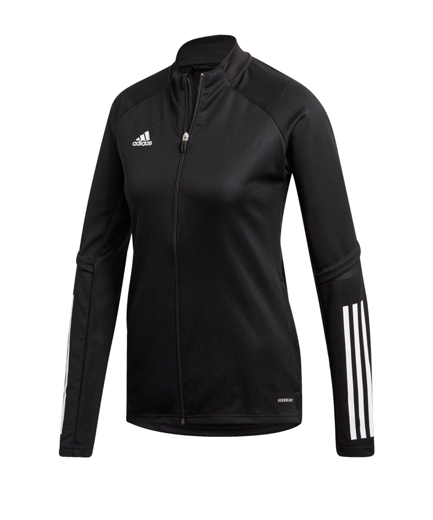 adidas Condivo 20 Trainingsjacke Damen Schwarz - schwarz