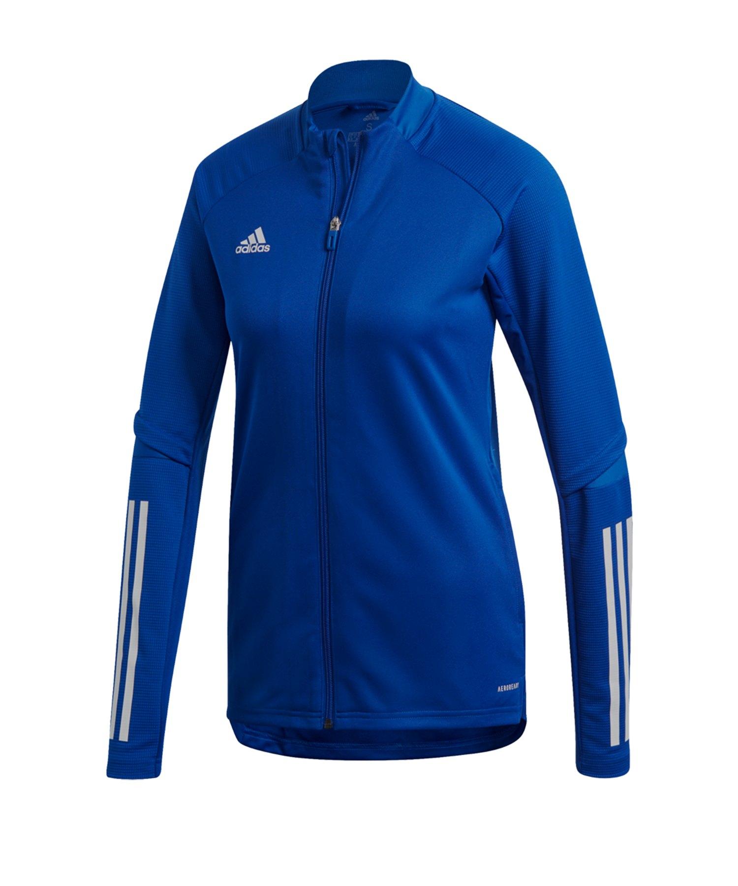 adidas Condivo 20 Trainingsjacke Damen Blau - blau