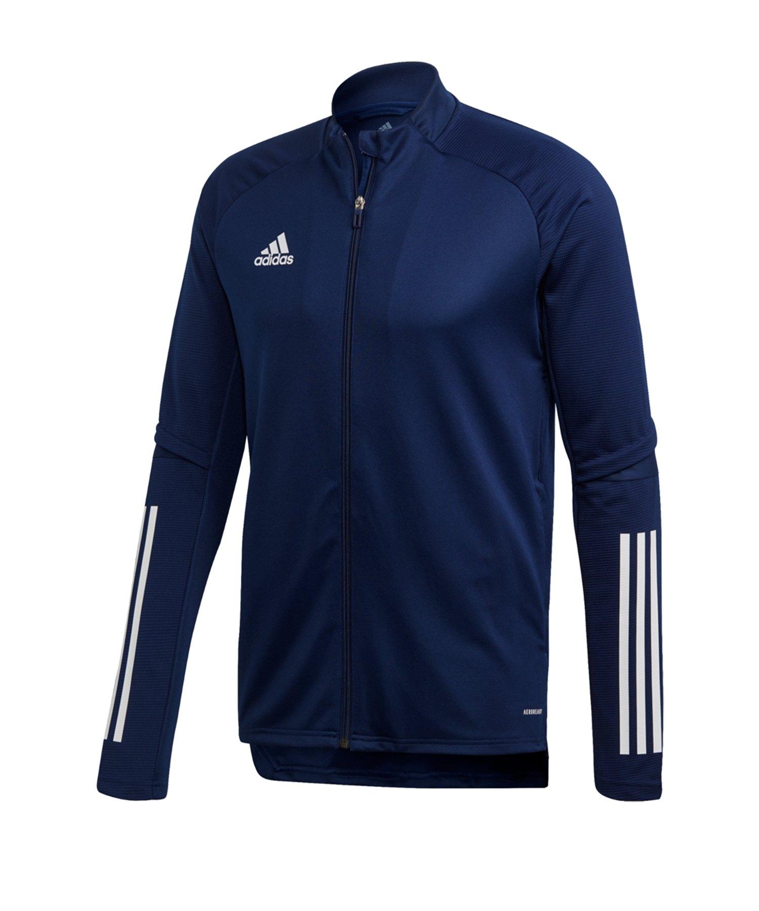 adidas Condivo 20 Trainingsjacke Dunkelblau - blau