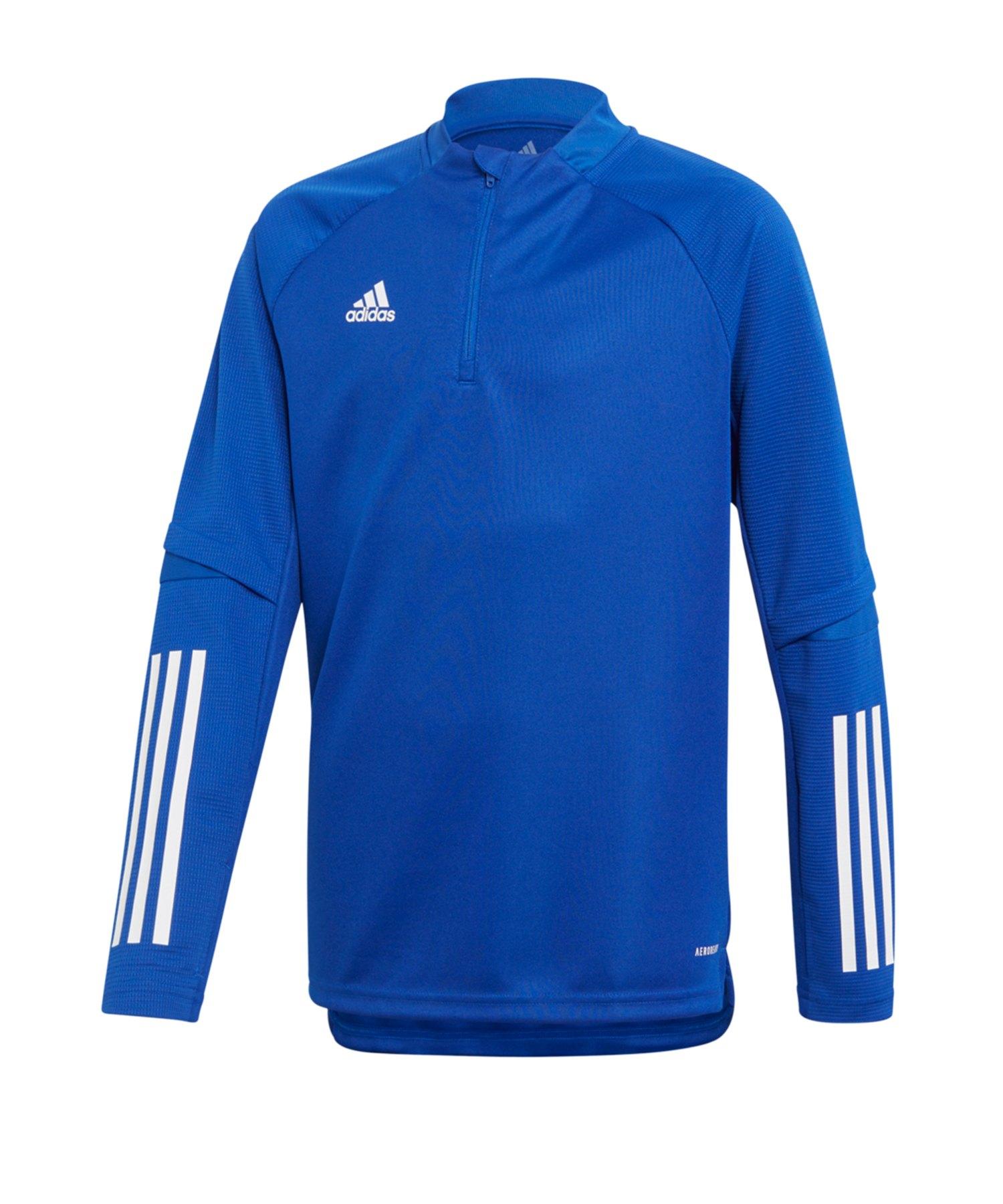 adidas Condivo 20 Trainingstop LA Kids Blau Weiss - blau