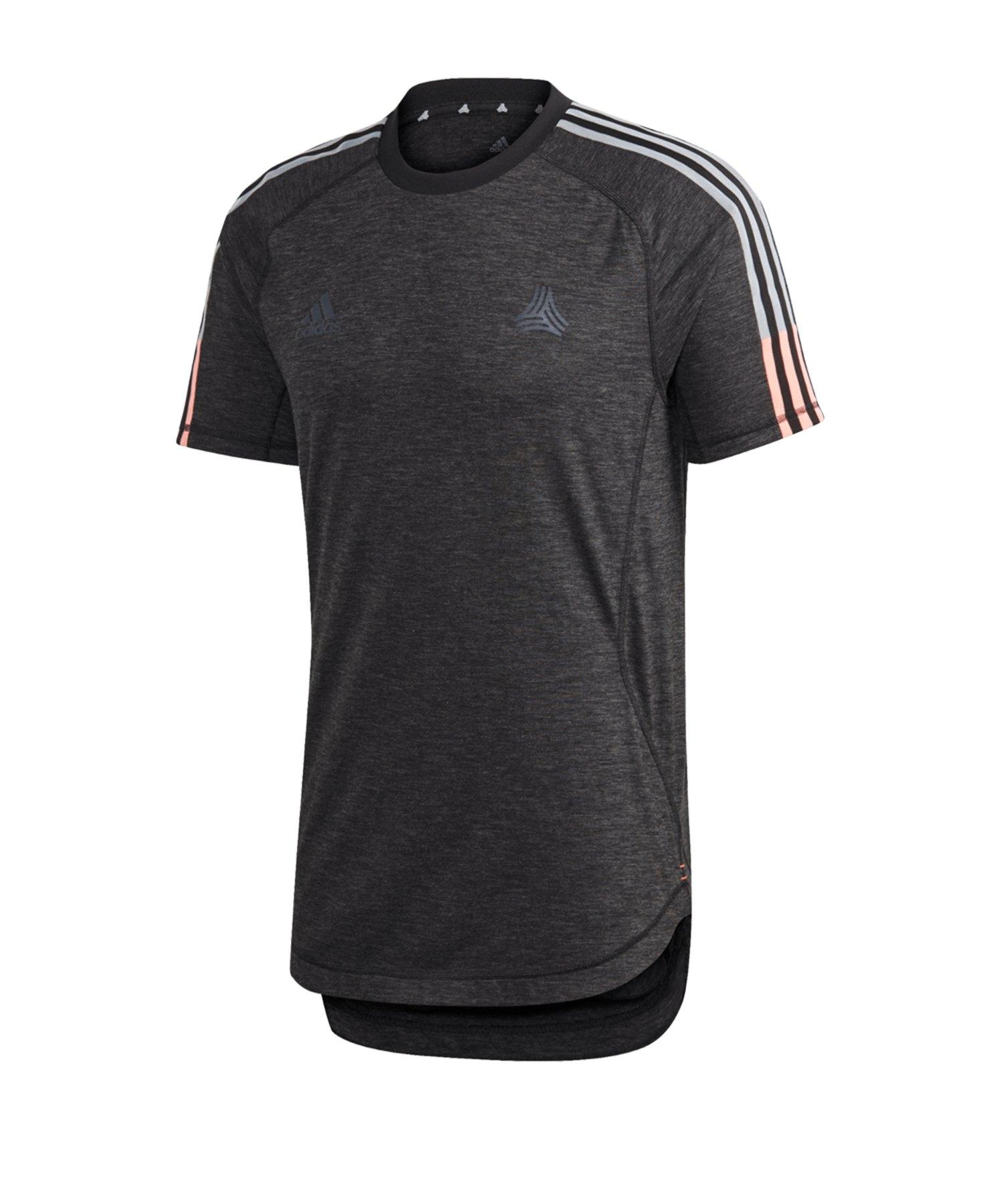 adidas Tango Tec T-Shirt Schwarz - schwarz
