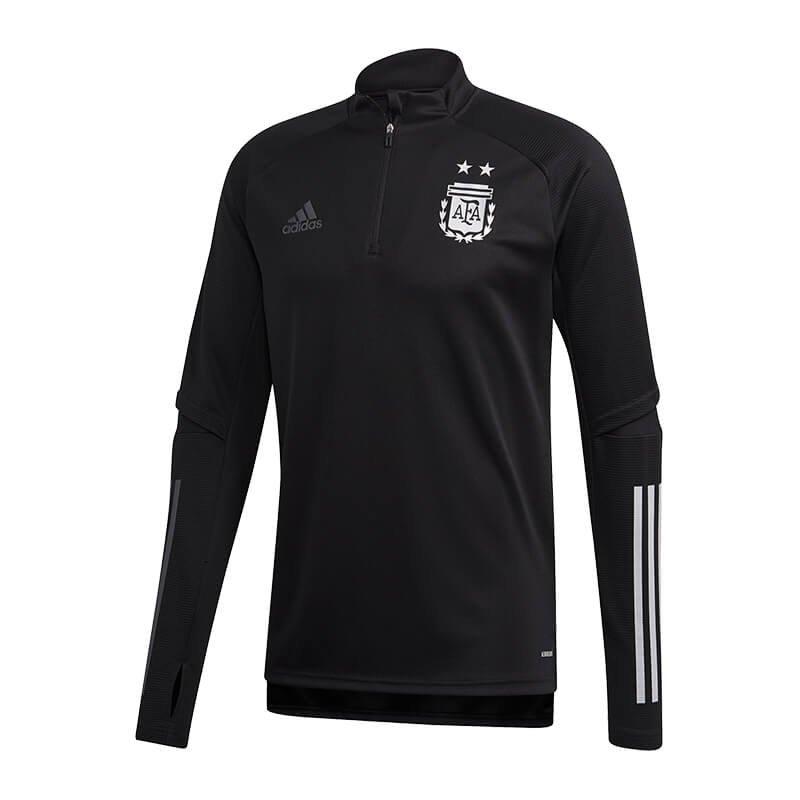 adidas Argentinien 1/4 Zip Shirt Schwarz - schwarz