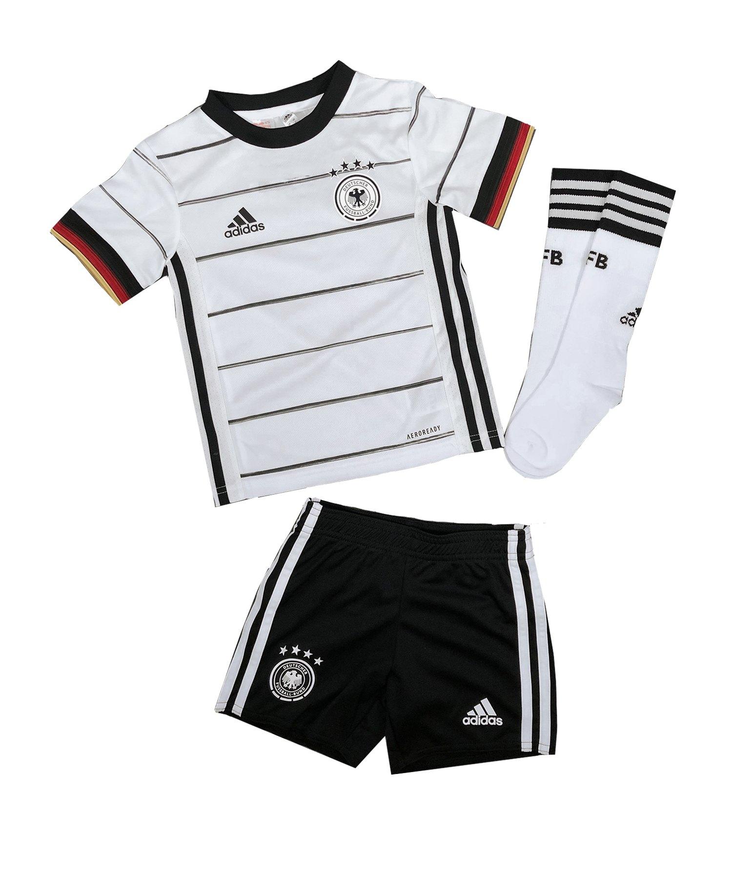 adidas DFB Deutschland Minikit Home EM 2020 Weiss - weiss