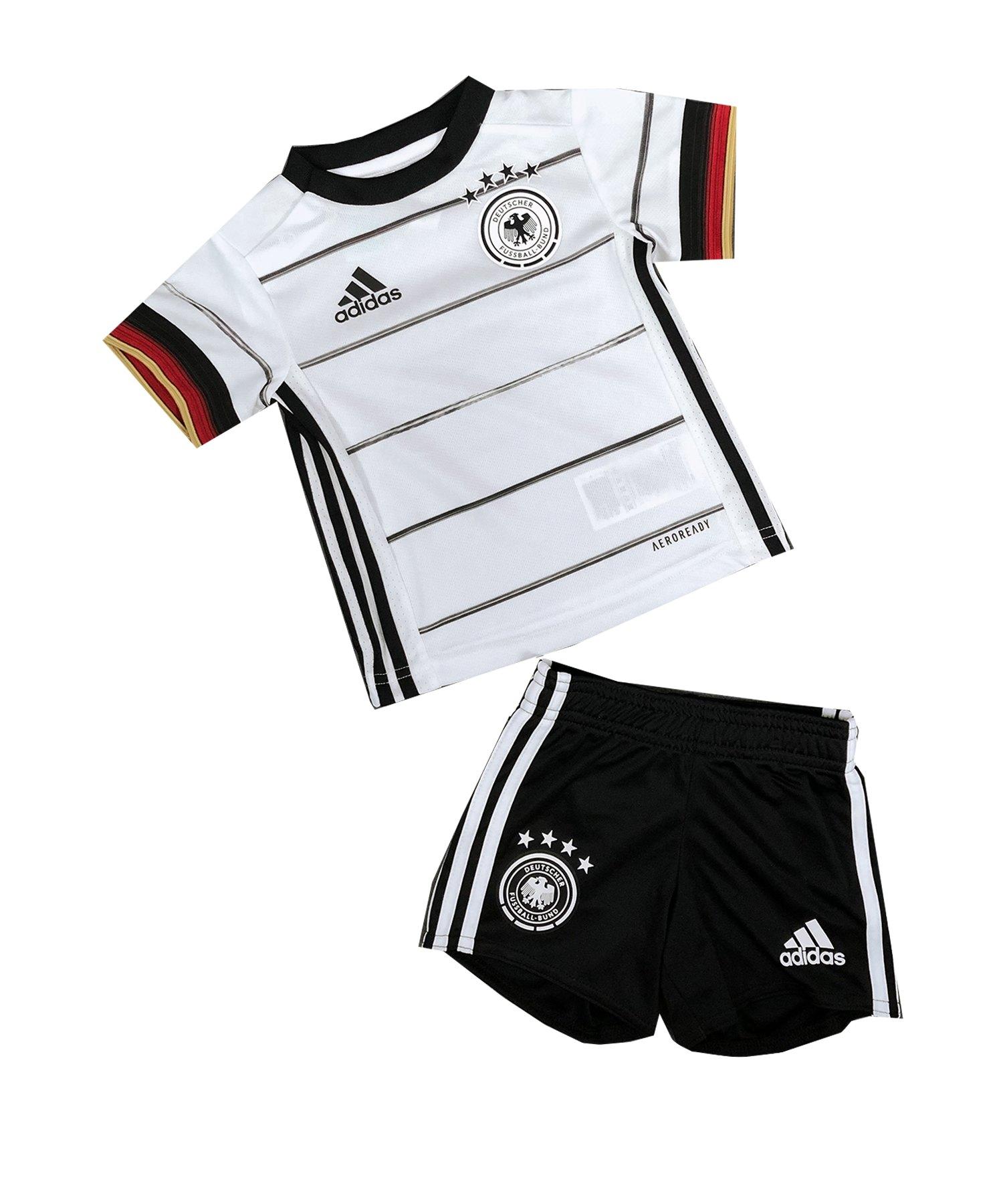 adidas DFB Deutschland Babykit Home EM 2020 Weiss - weiss