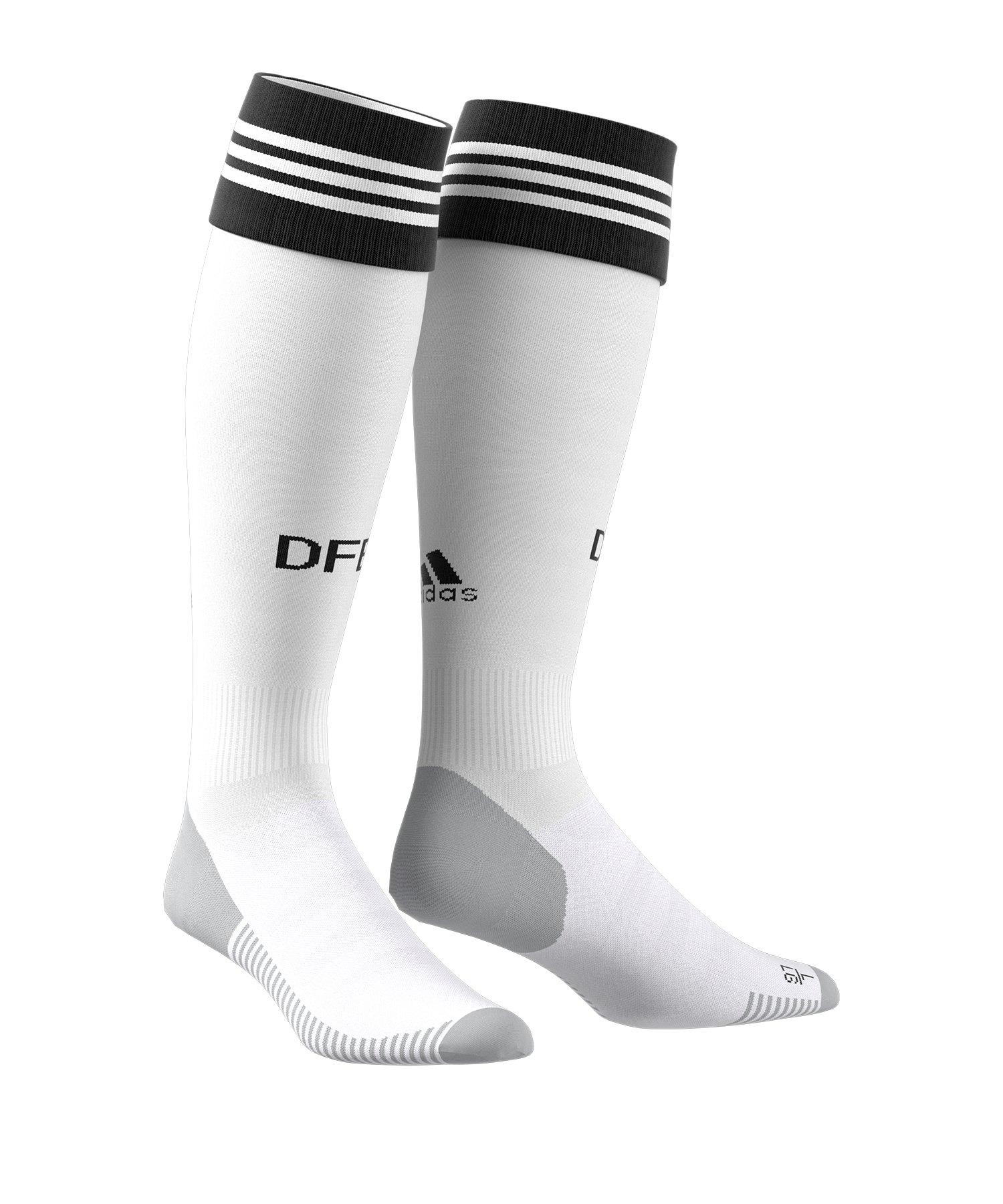 adidas DFB Deutschland Stutzen Home EM 2020 Weiss - weiss