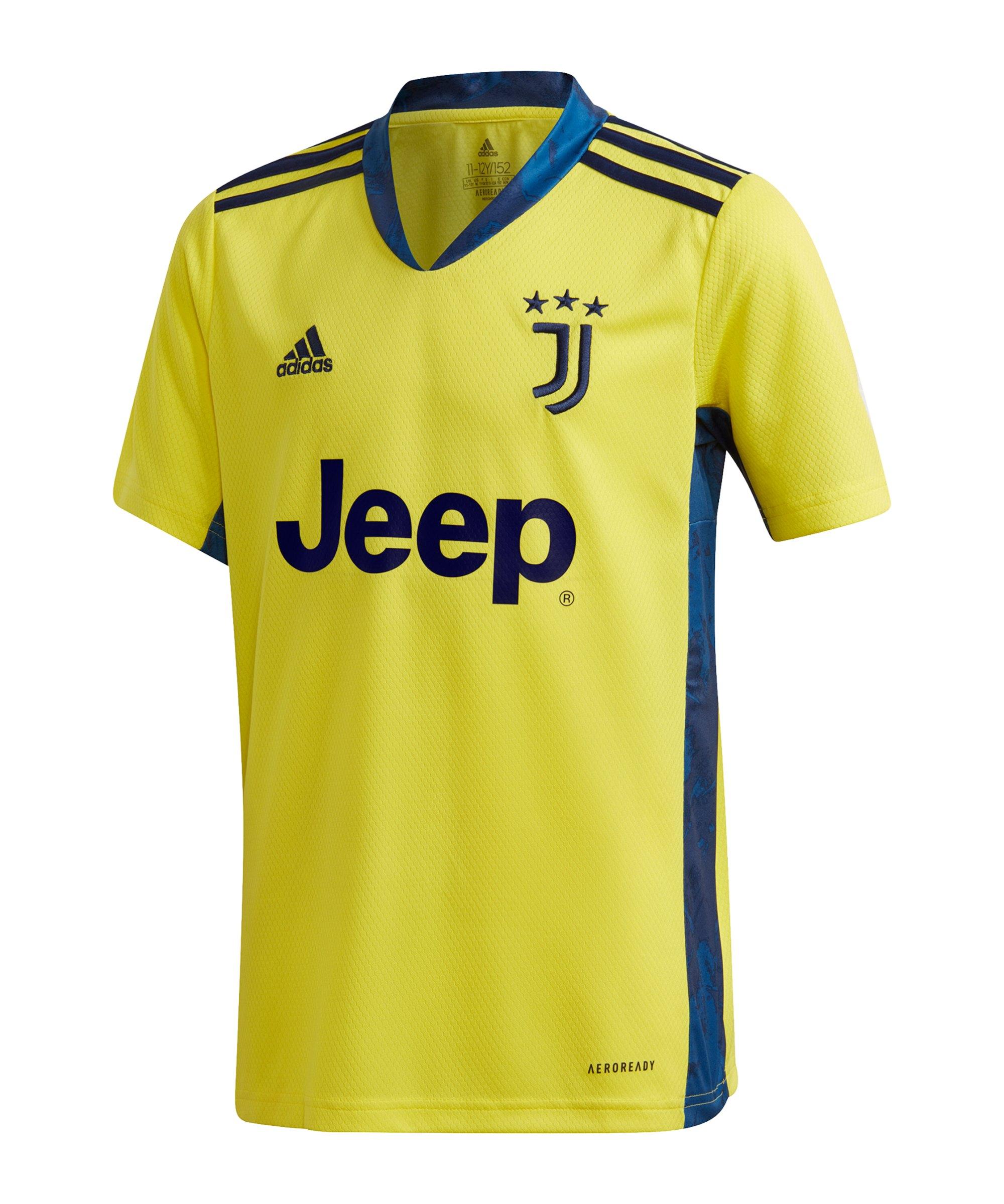 adidas Juventus Turin Torwarttrikot 2020/2021 Kids - gelb