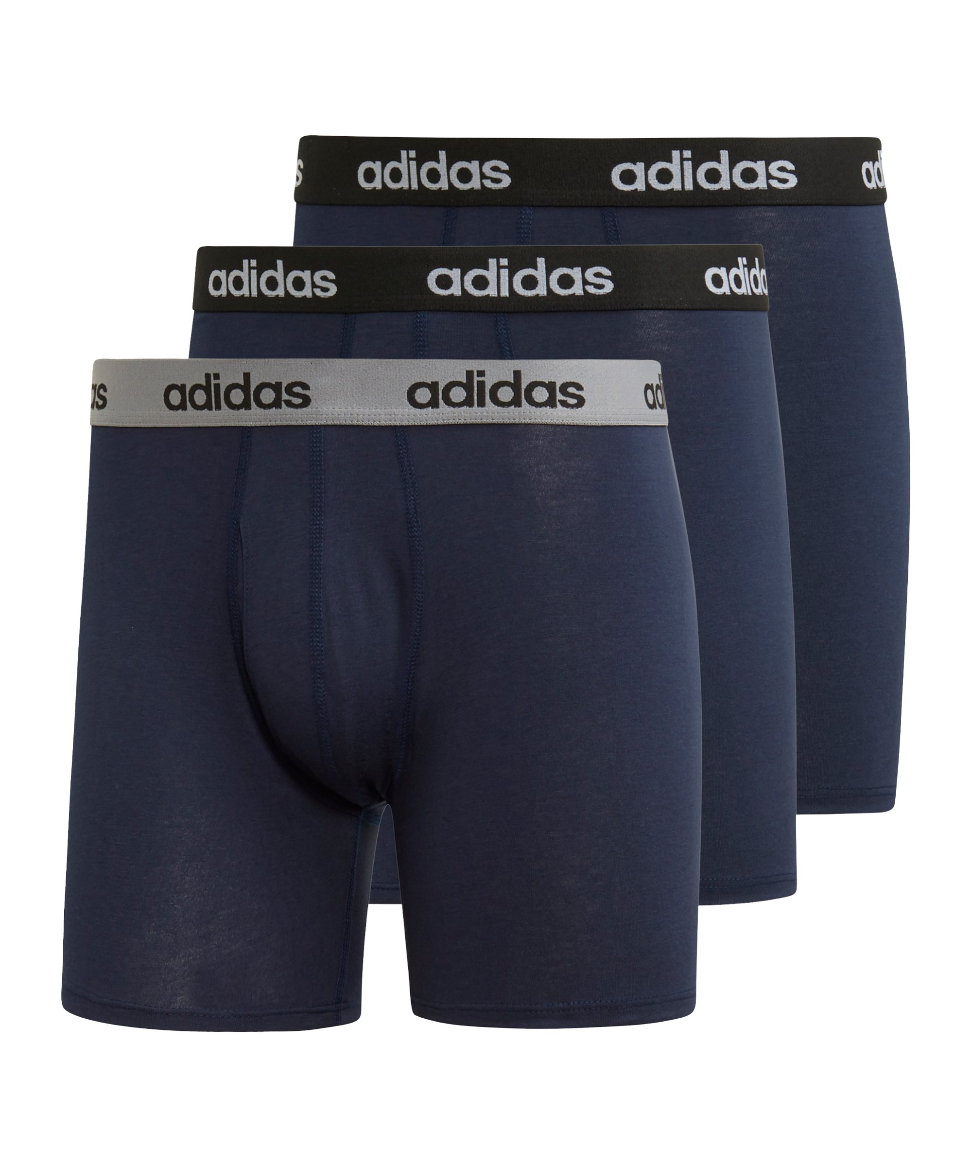 adidas Brief 3er Pack Blau - blau