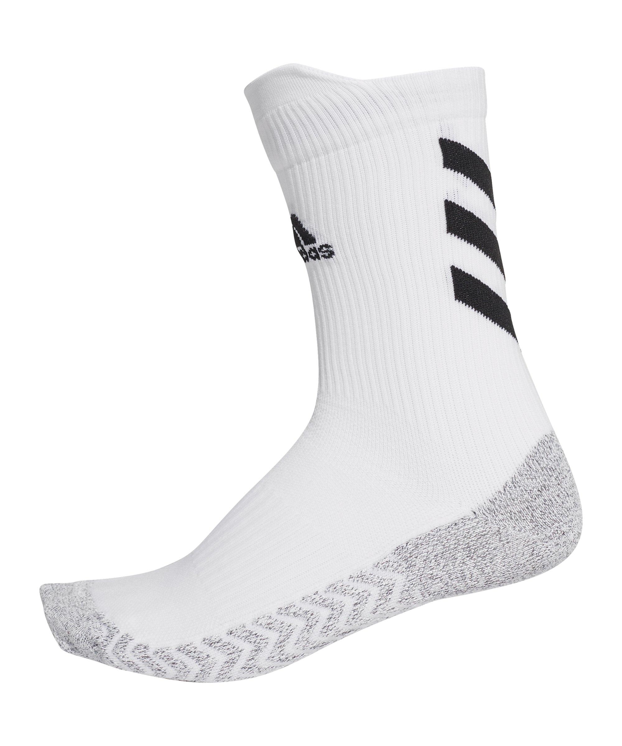 adidas Alphaskin Crew Socks Socken Weiss - weiss