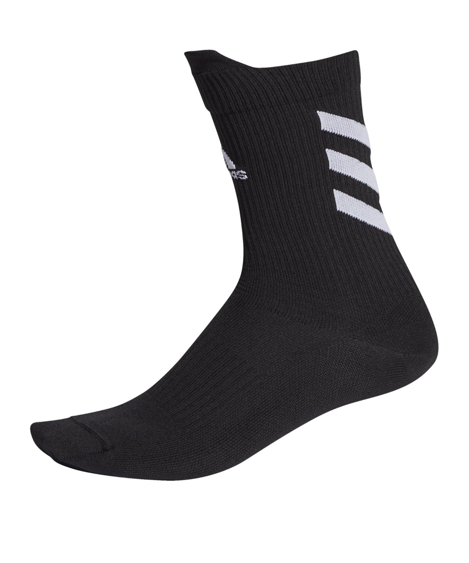 adidas Alphaskin Ultra Light Socken Schwarz - schwarz