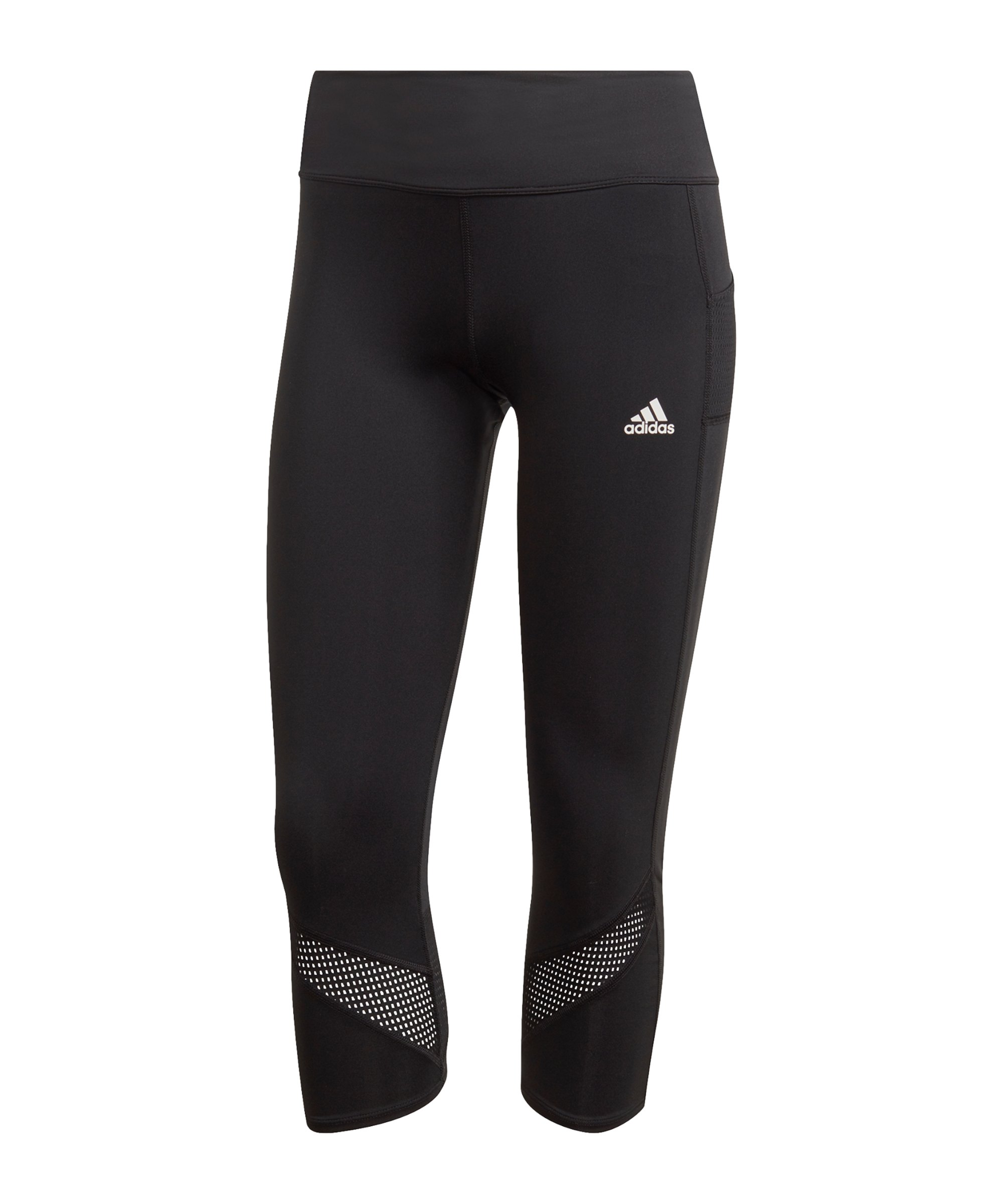 adidas Own the Run 3/4 Tight Running Damen Schwarz - schwarz