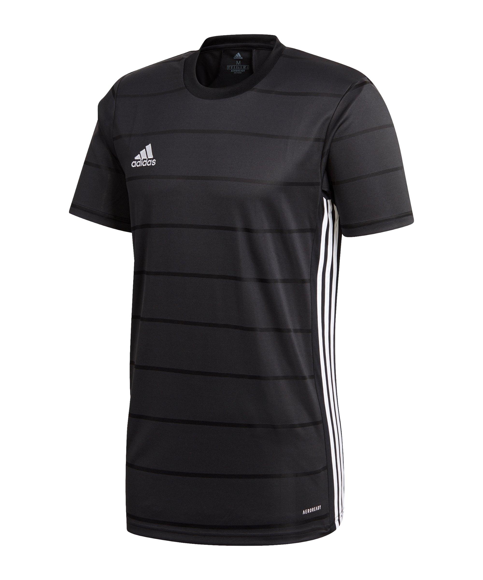 adidas Campeon 21 Trikot kurzarm Kids Schwarz - schwarz