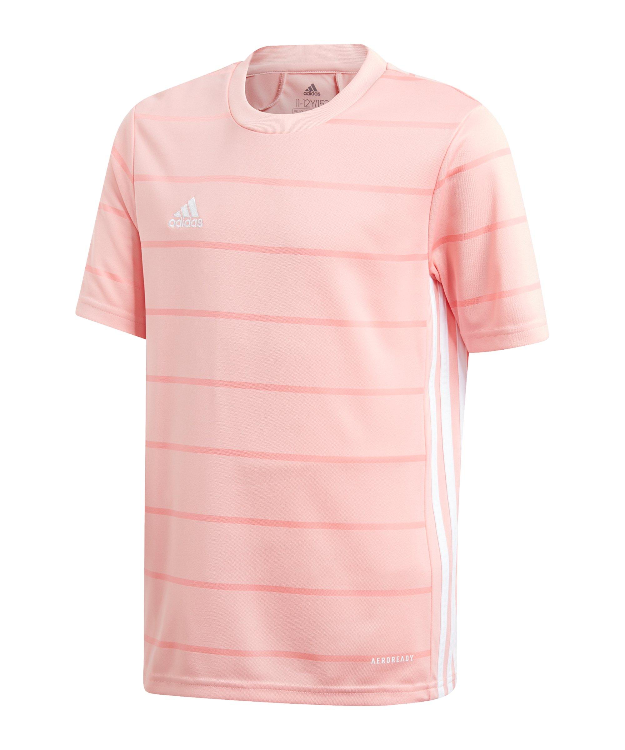adidas Campeon 21 Trikot kurzarm Kids Pink - pink
