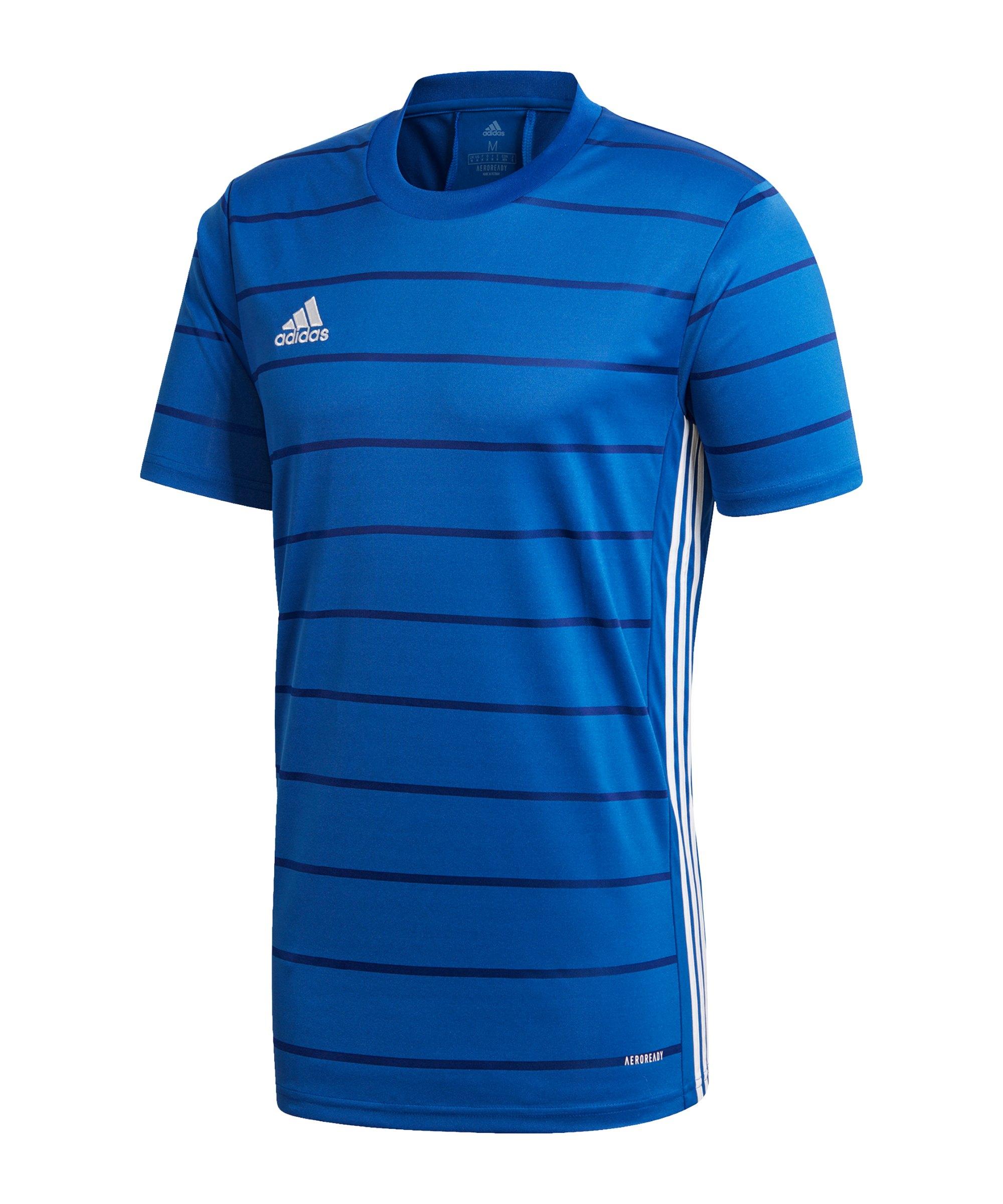 adidas Campeon 21 Trikot kurzarm Blau - blau
