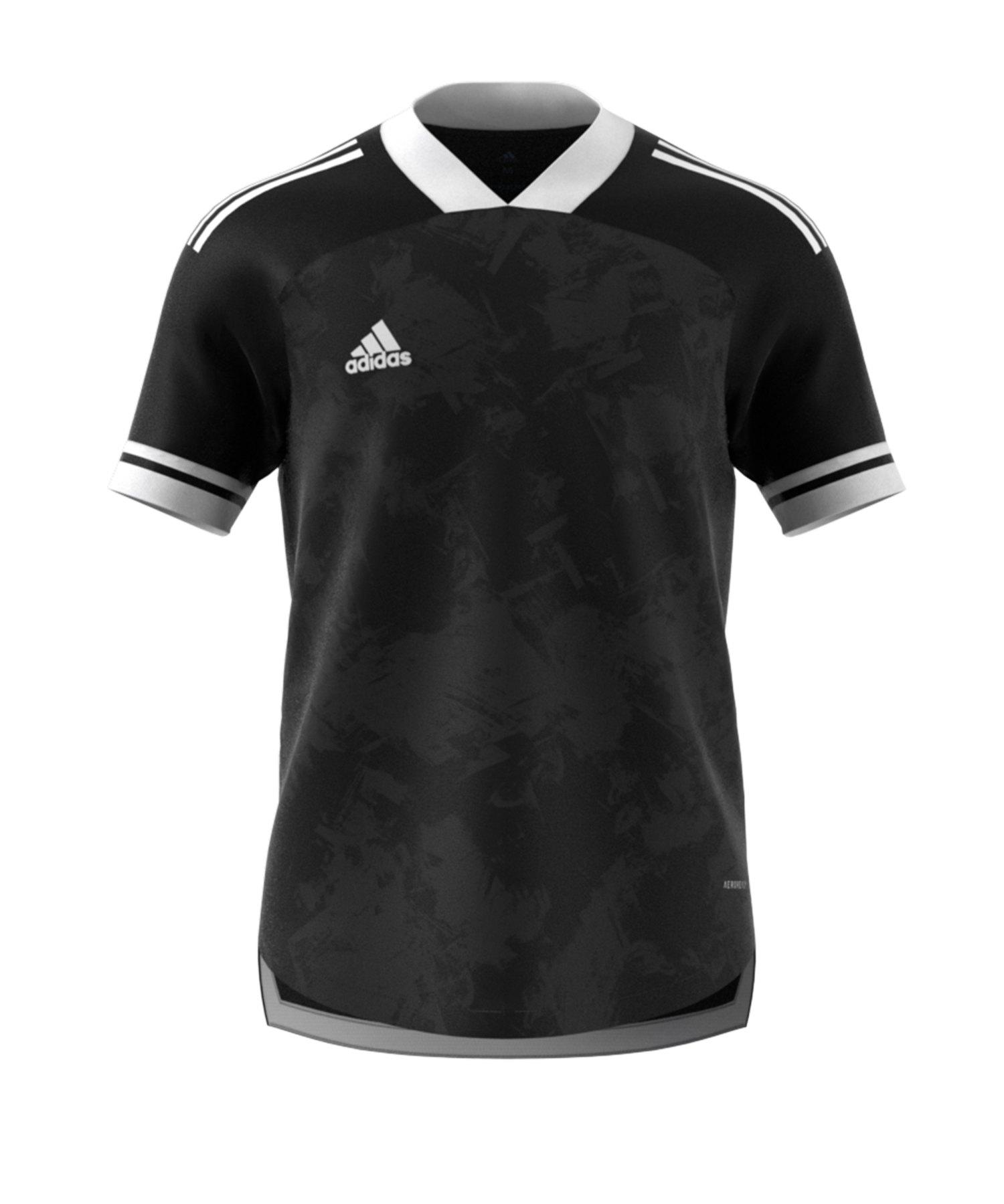 adidas Condivo 20 Trikot kurzarmSchwarz Weiss - schwarz