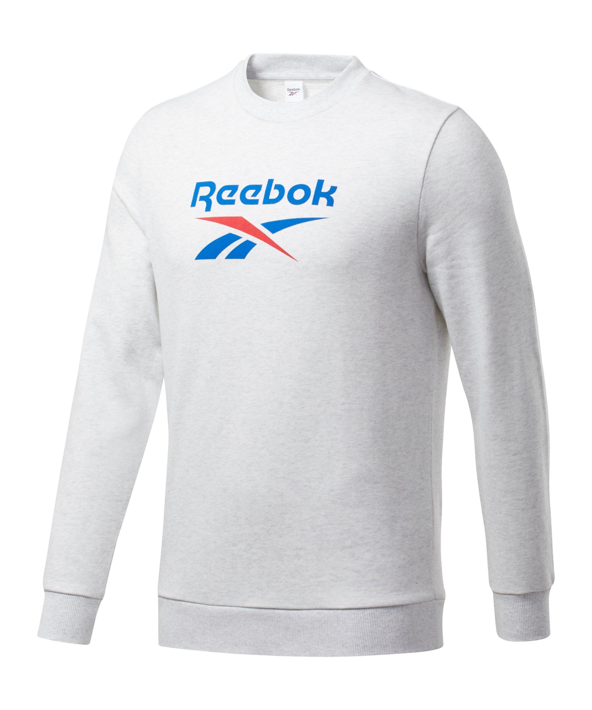 Reebok CL Vector Crew Sweatshirt Weiss - weiss