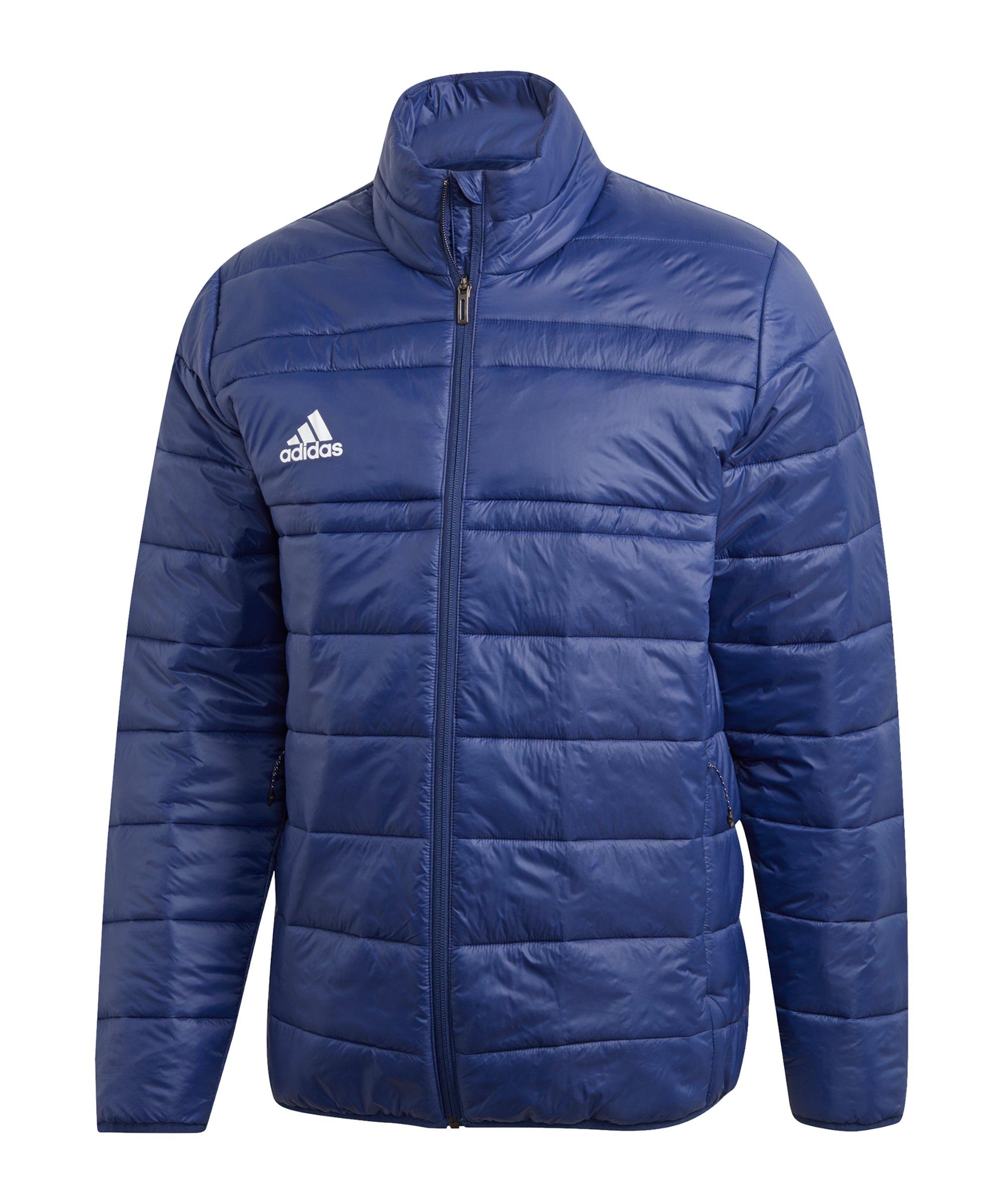 adidas Padded Jacket Winterjacke Dunkelblau - blau
