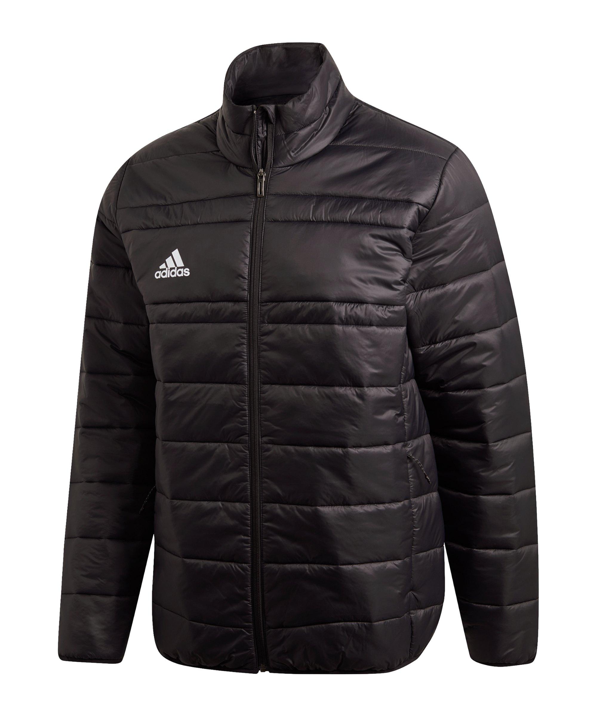 adidas Padded Jacke 18 Schwarz - schwarz