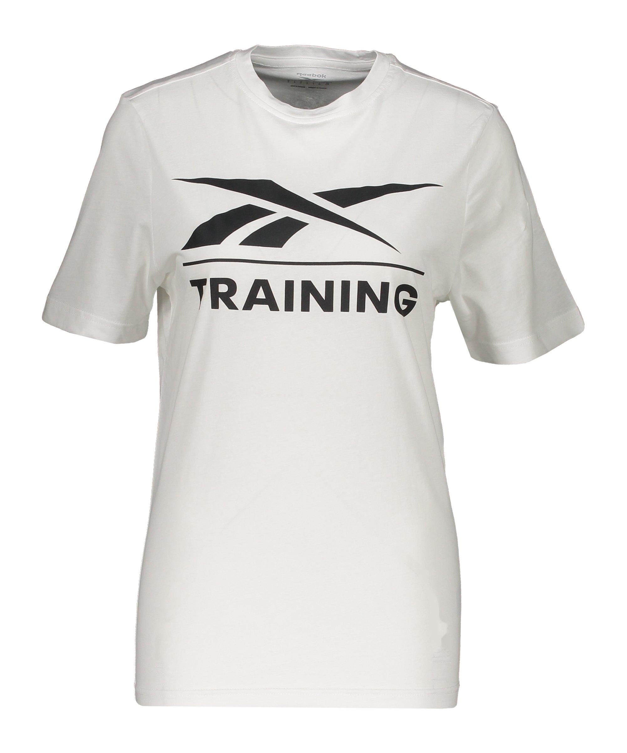 Reebok T-Shirt Training Damen Weiss - weiss