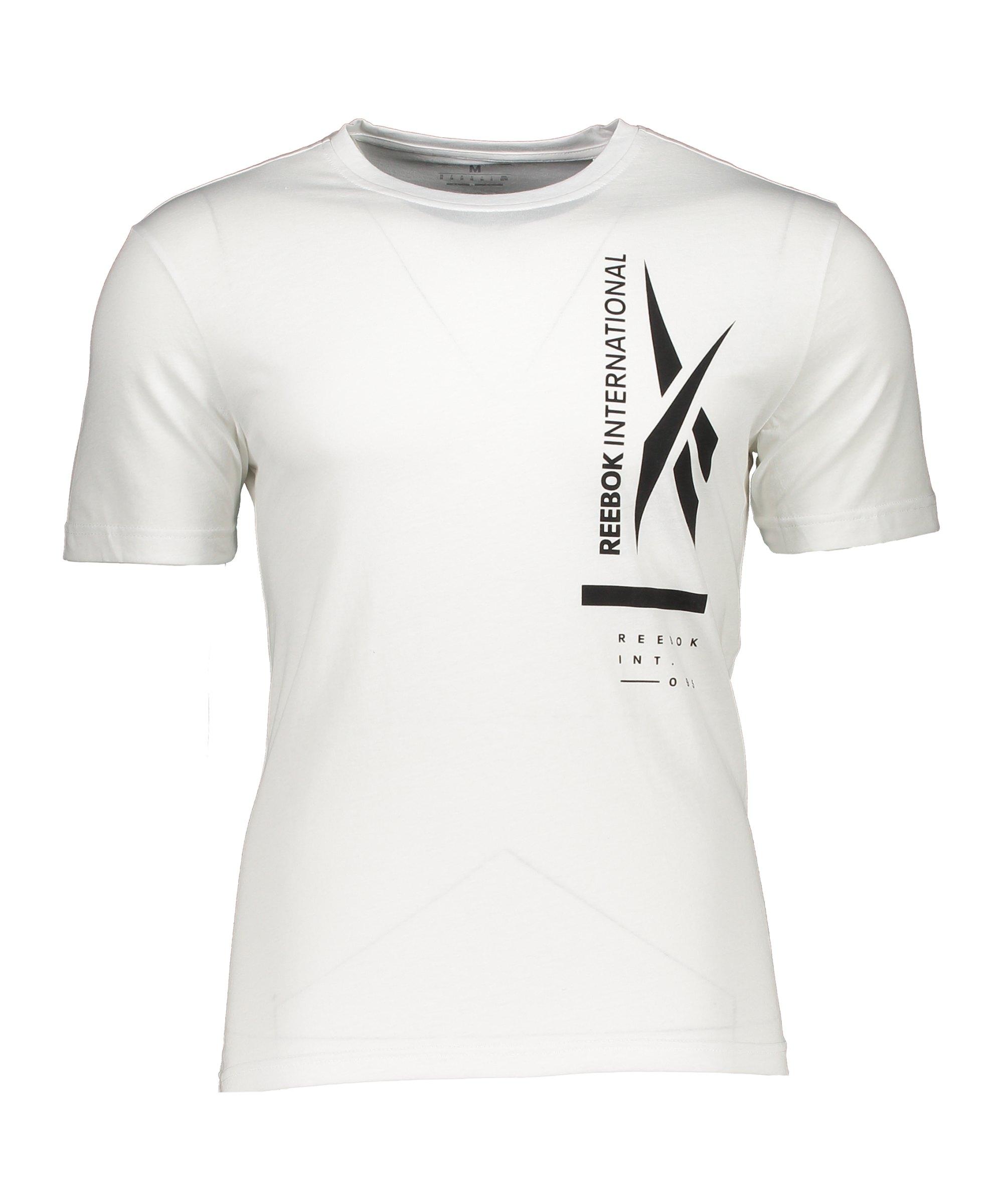 Reebok TS Graphic T-Shirt Weiss - weiss
