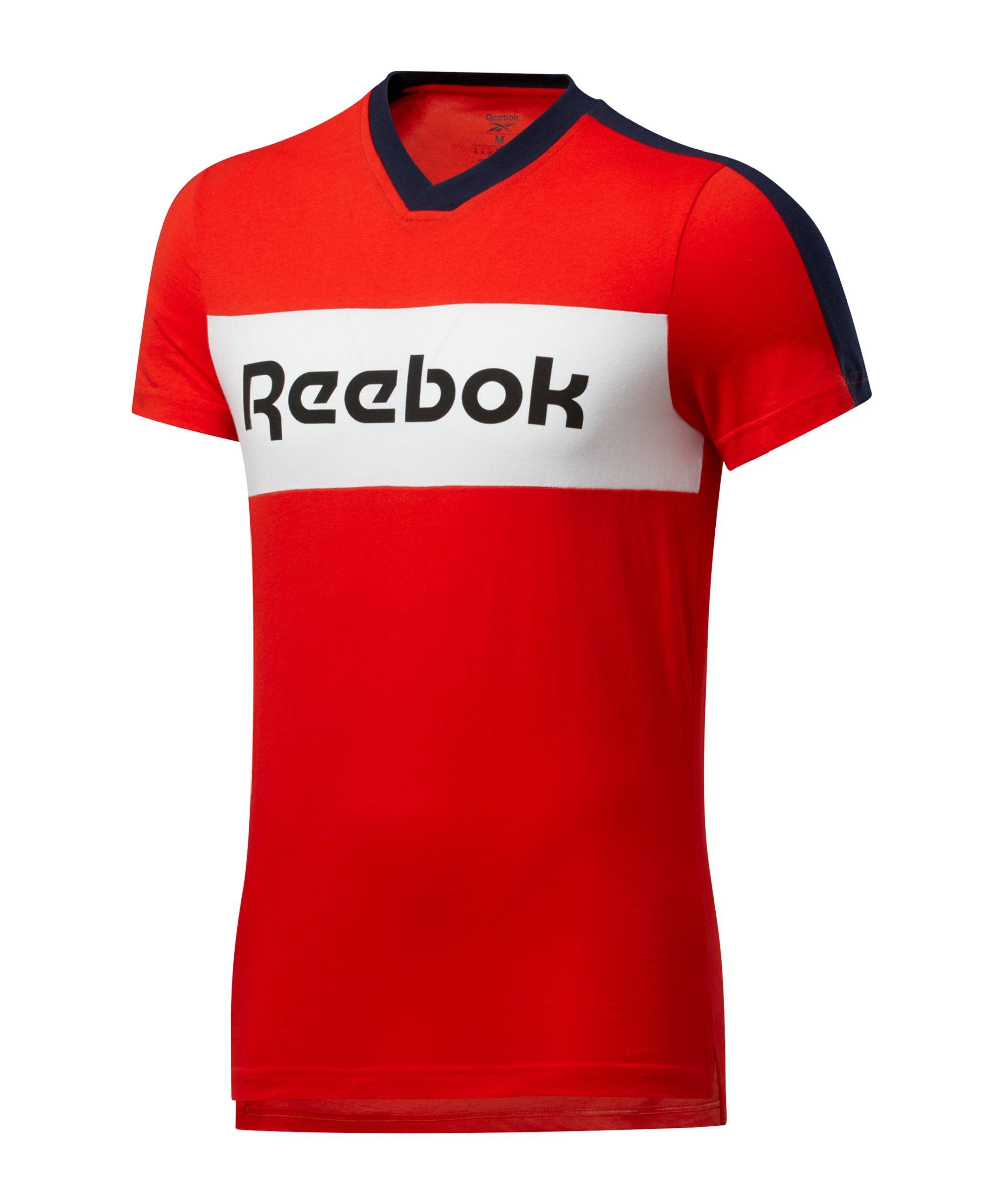 Reebok TE Graphic T-Shirt Rot - rot