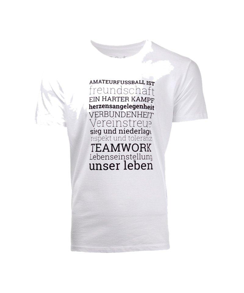 FuPa Shirt Amateurfußball Weiss - weiss