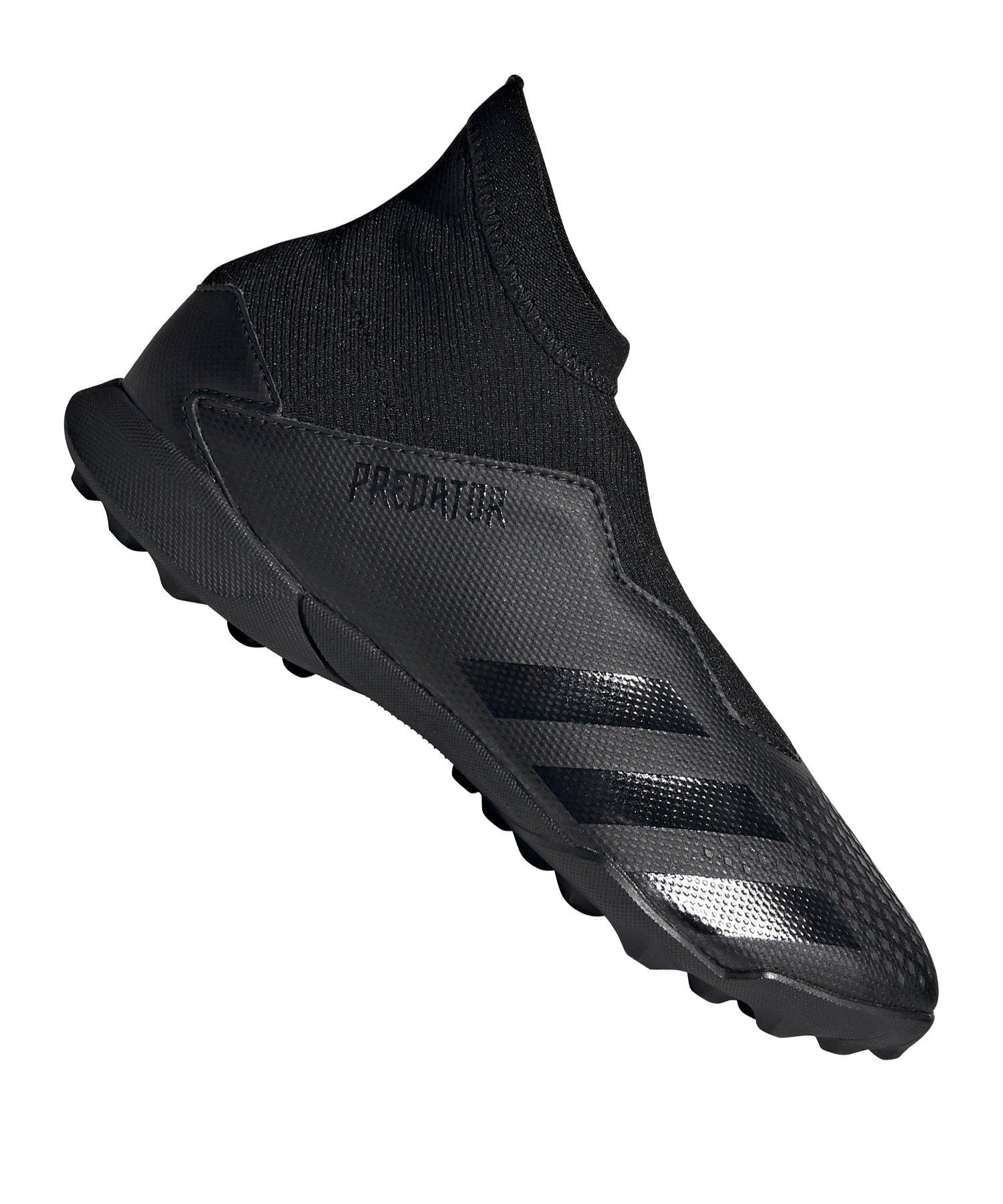 adidas Predator 20.3 LL TF Kids Schwarz - schwarz