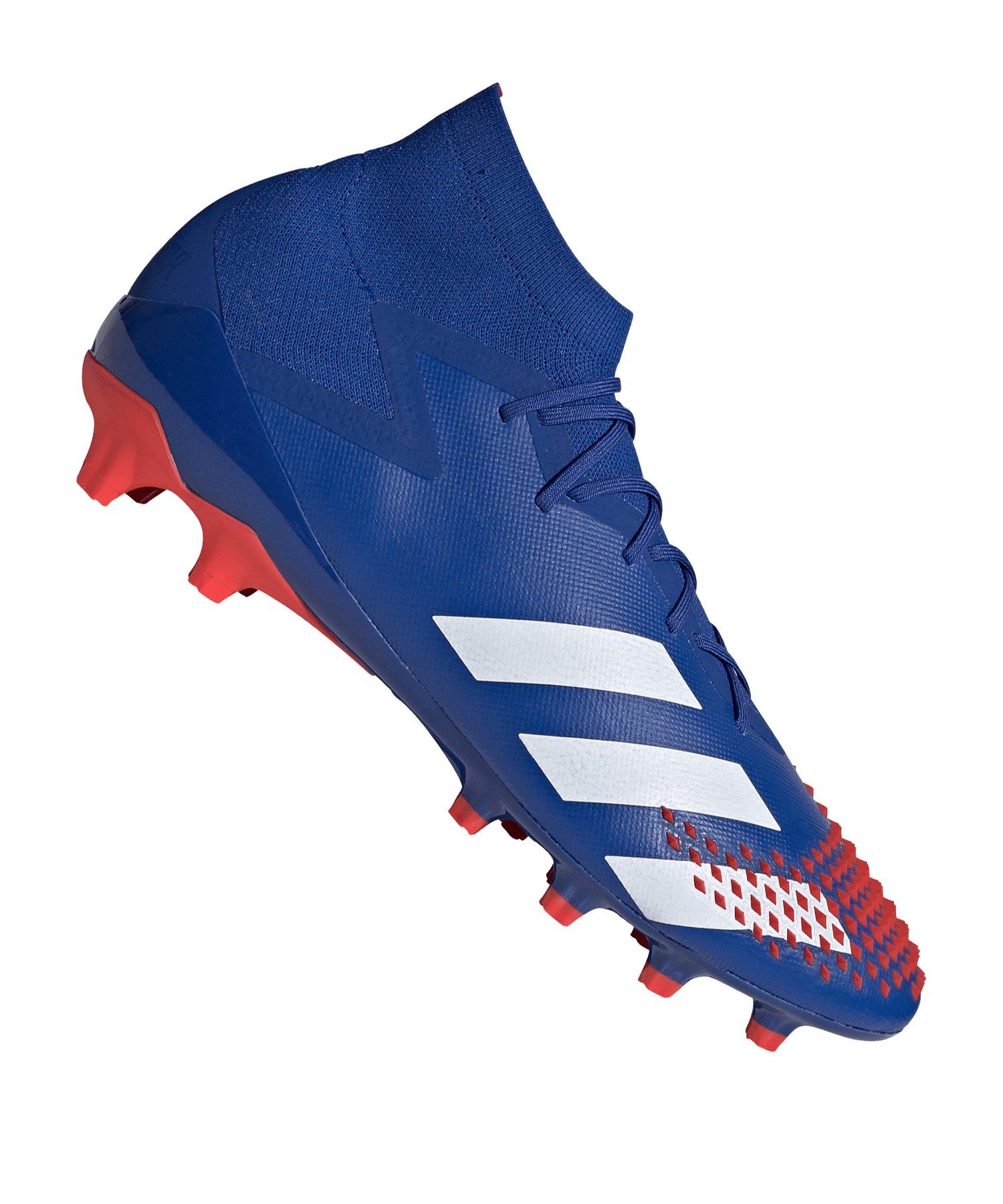 adidas Predator 20.1 AG BlauRot - blau