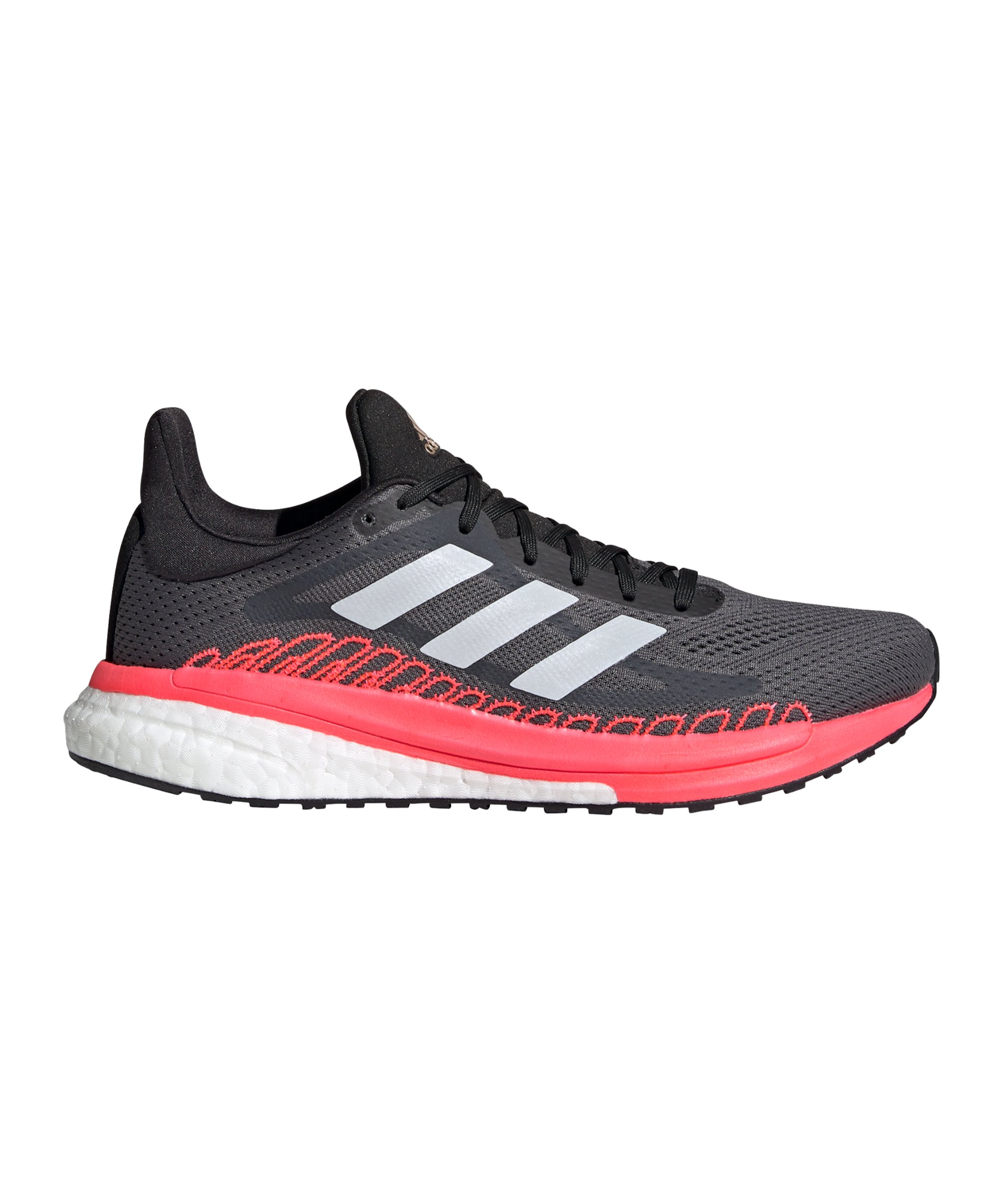 adidas Solar Glide ST 3 Running Damen Grau Pink - grau