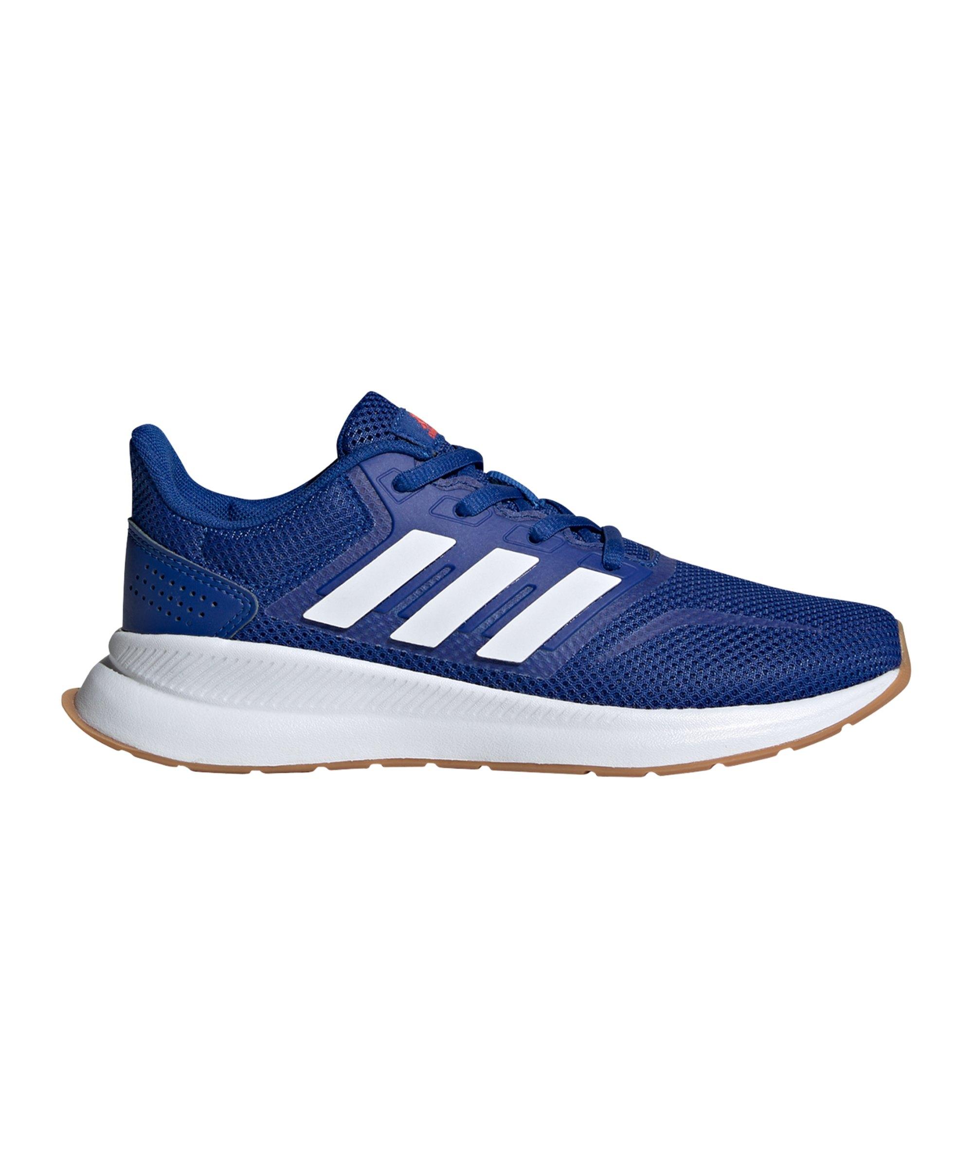 adidas Runfalcon Running Kids Blau Weiss Rot - rot