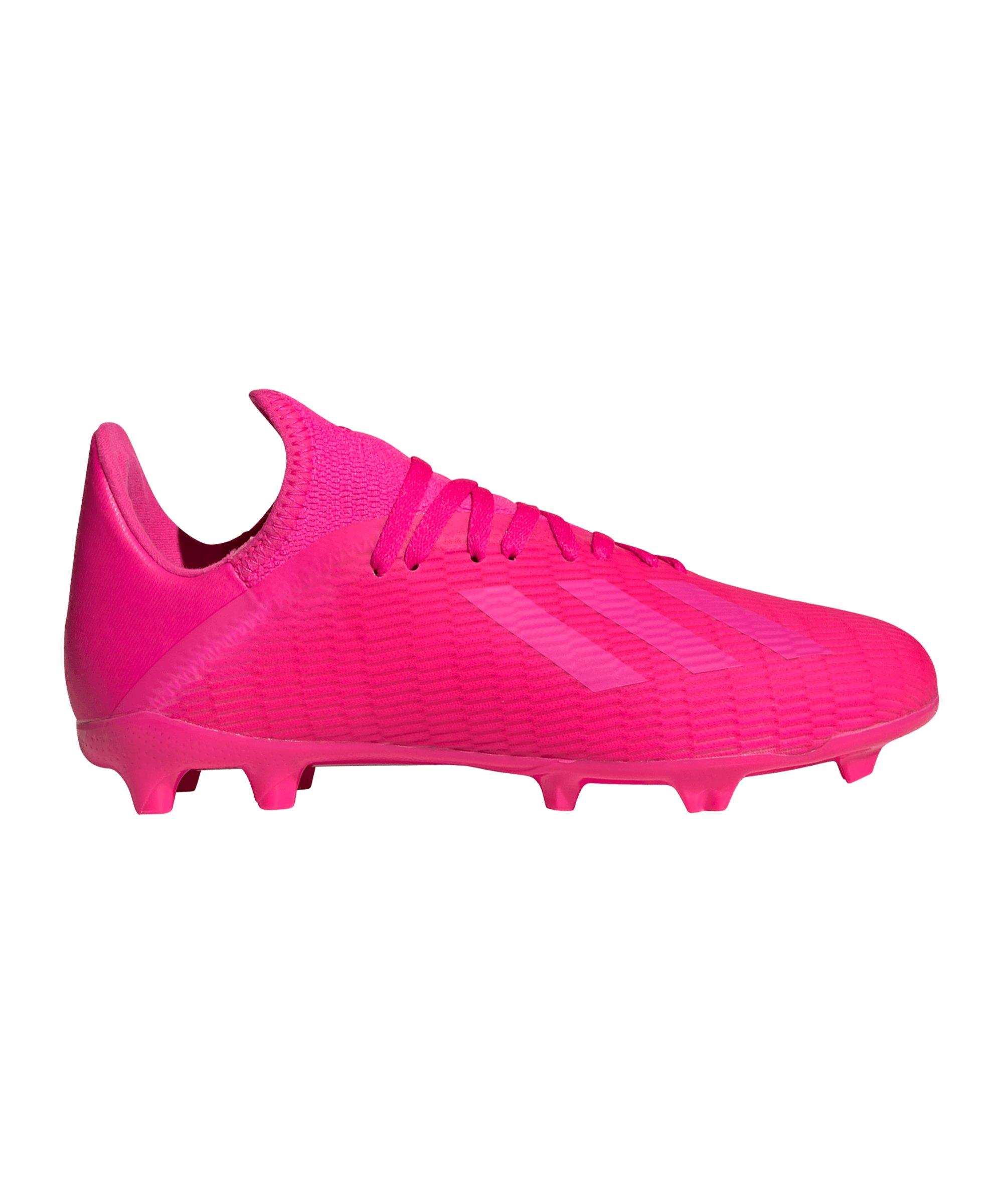 adidas X 19.3 FG J Kids Pink - pink
