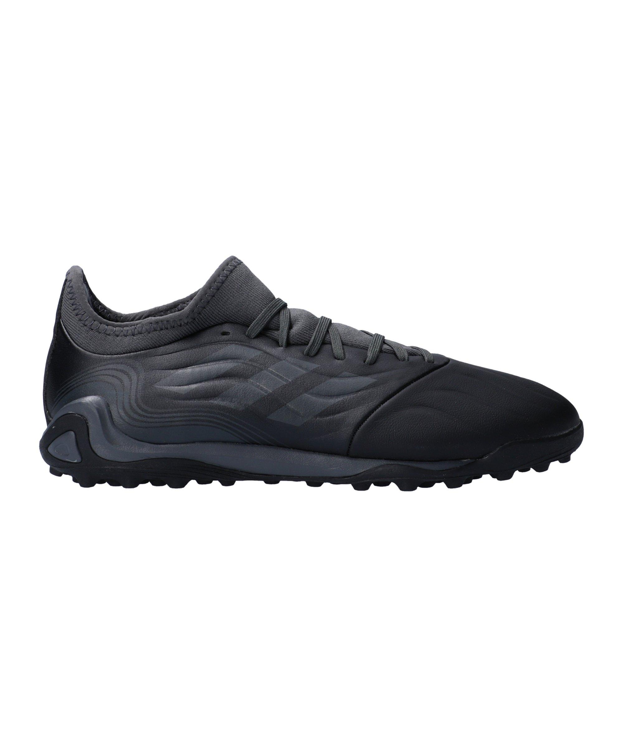 adidas COPA SENSE.3 Superstealth TF Schwarz Grau - schwarz