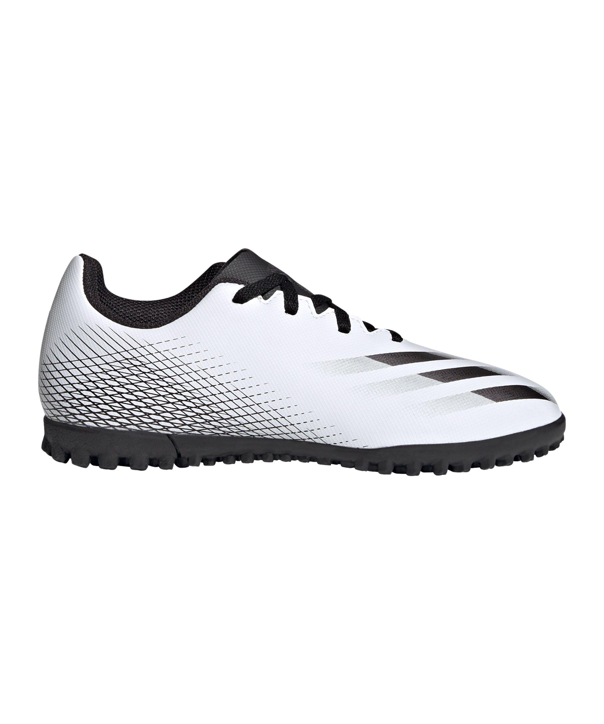 adidas X GHOSTED.4 TF Inflight J Kids Weiss - weiss