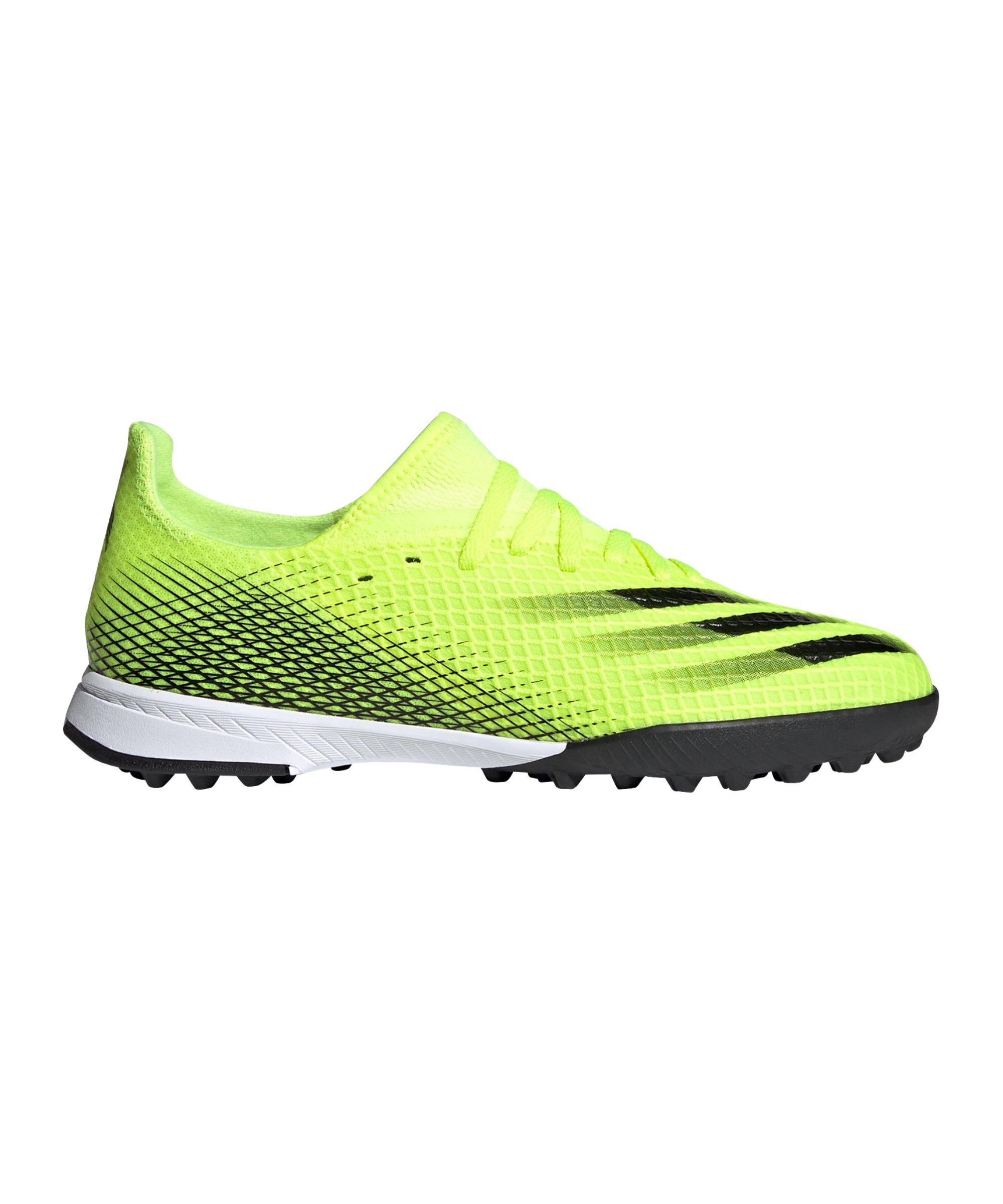 adidas X GHOSTED.3 TF Superlative J Kids Gelb Schwarz - gelb
