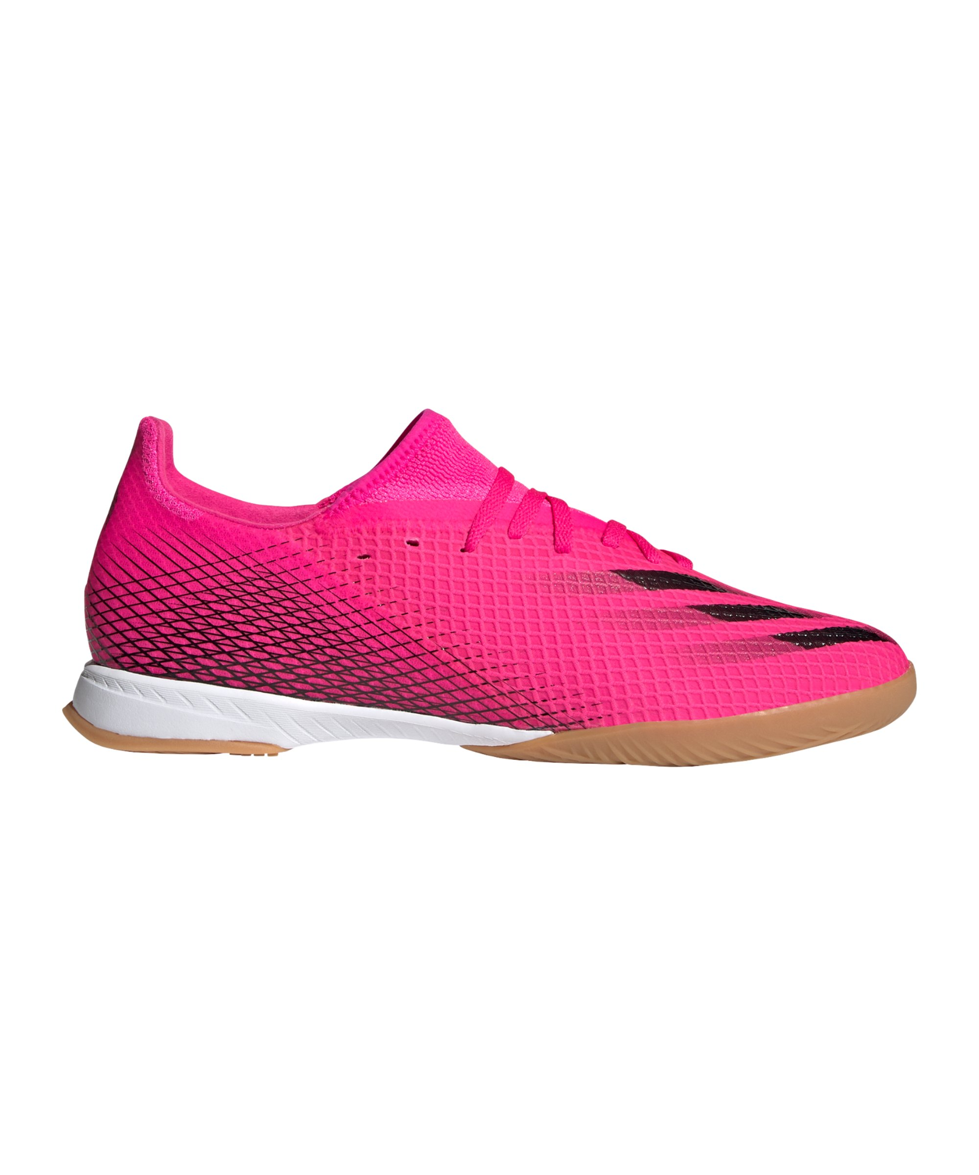 adidas X GHOSTED.3 IN Halle Superspectral Pink Schwarz Orange - pink