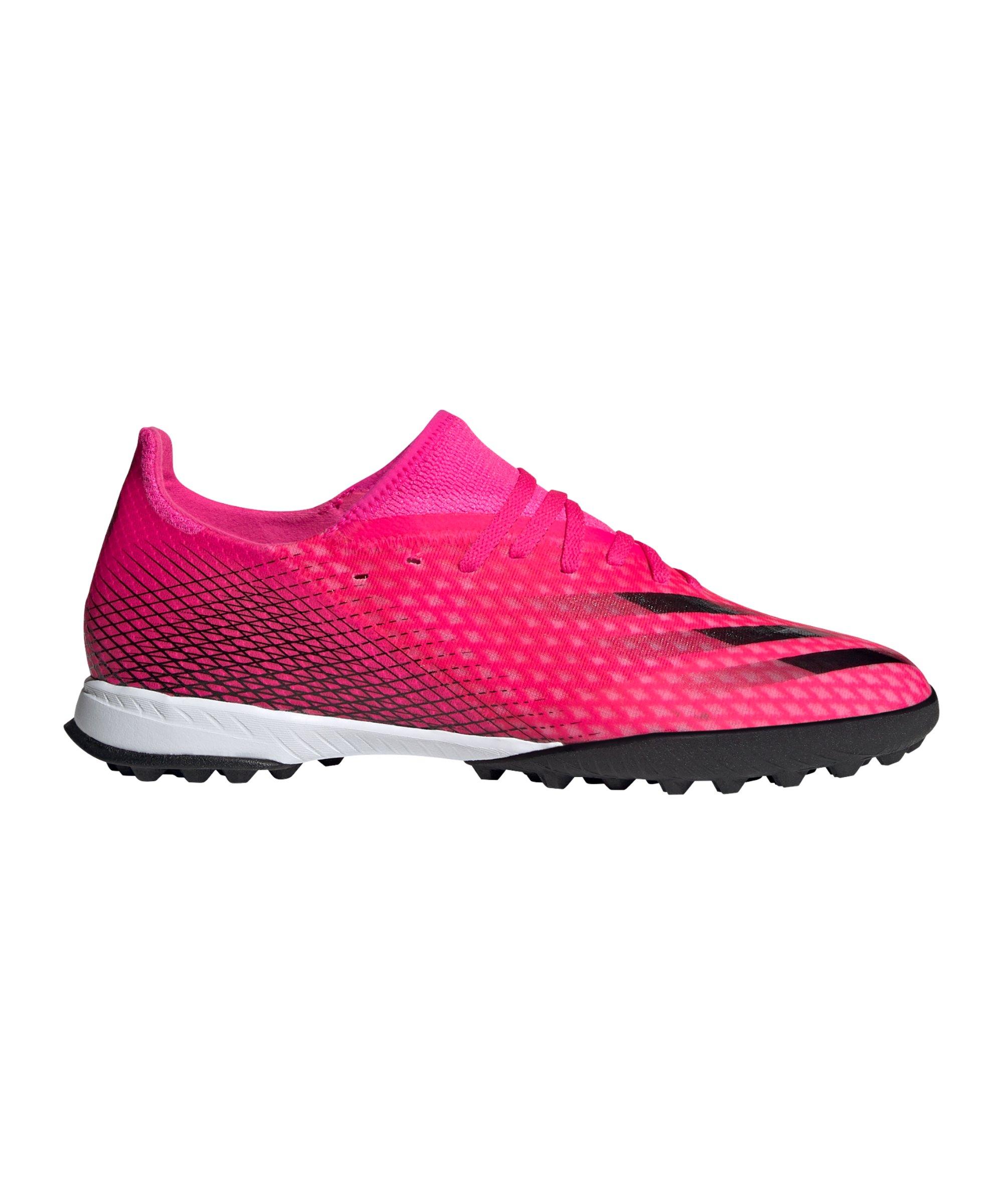 adidas X GHOSTED.3 TF Superspectral Pink Schwarz Orange - pink