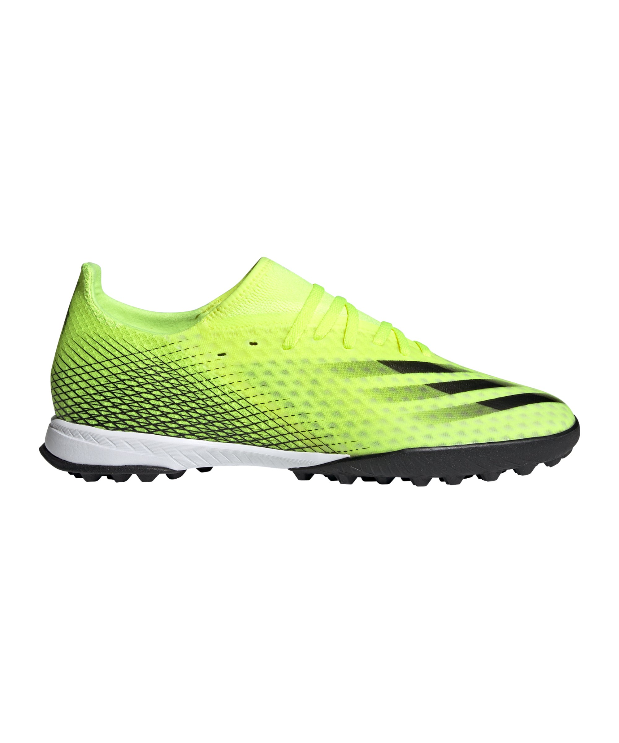 adidas X GHOSTED.3 TF Superlative Gelb Schwarz - gelb